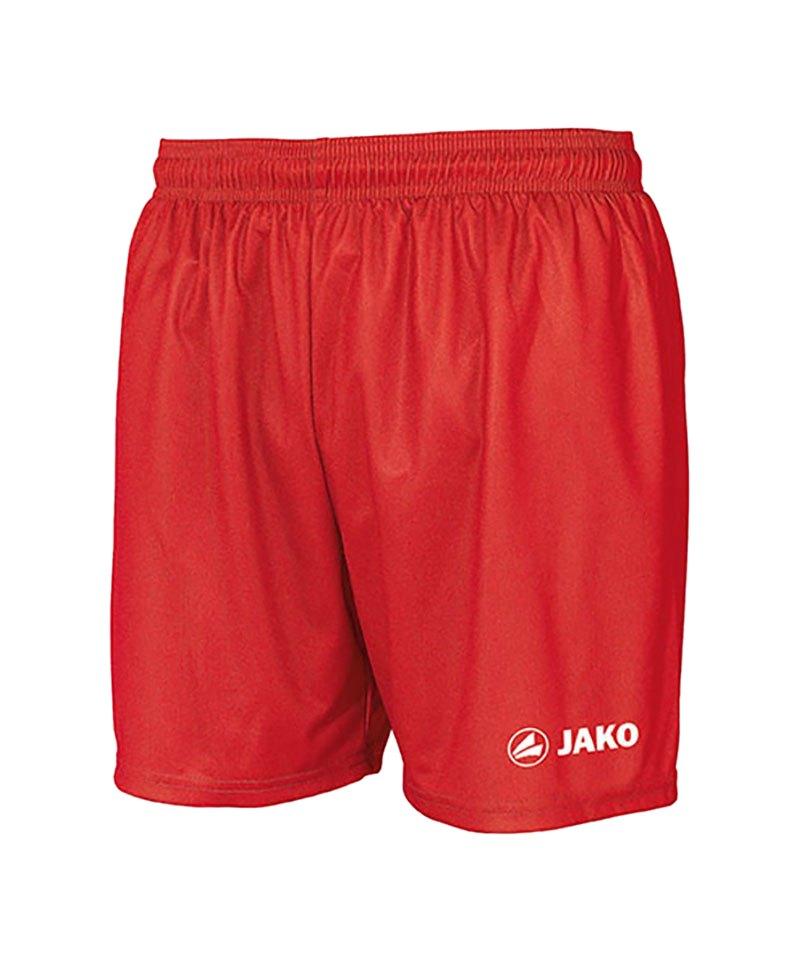 Jako Sporthose Manchester Short Kids Rot F01 - rot
