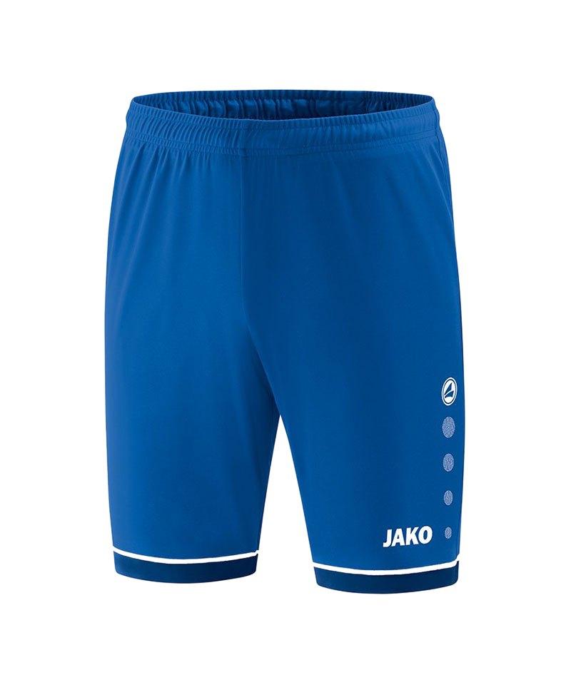 Jako Competition 2.0 Sporthose Blau Weiss F04 - blau