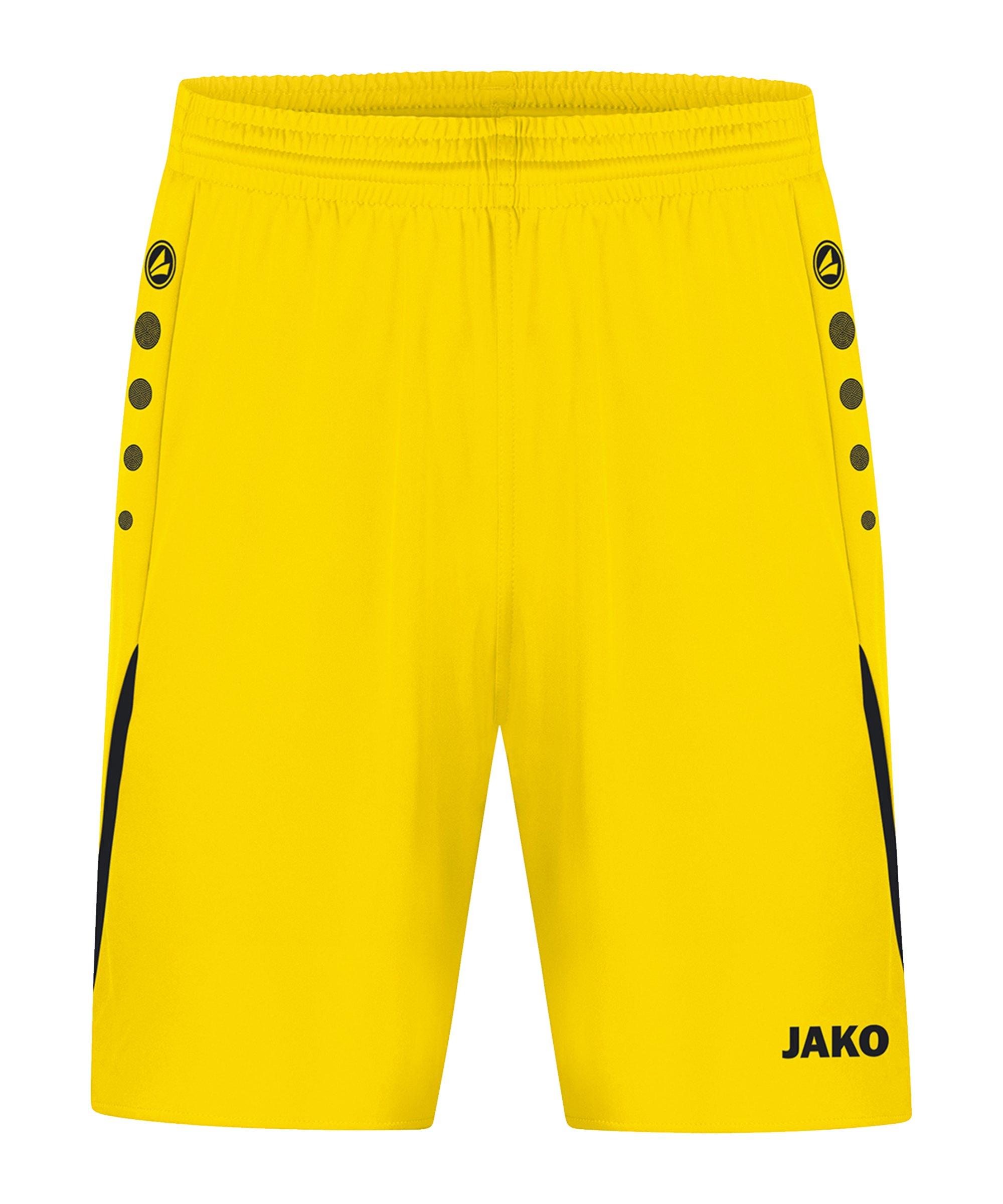 JAKO Challenge Short Kids Gelb Schwarz F301 - gelb