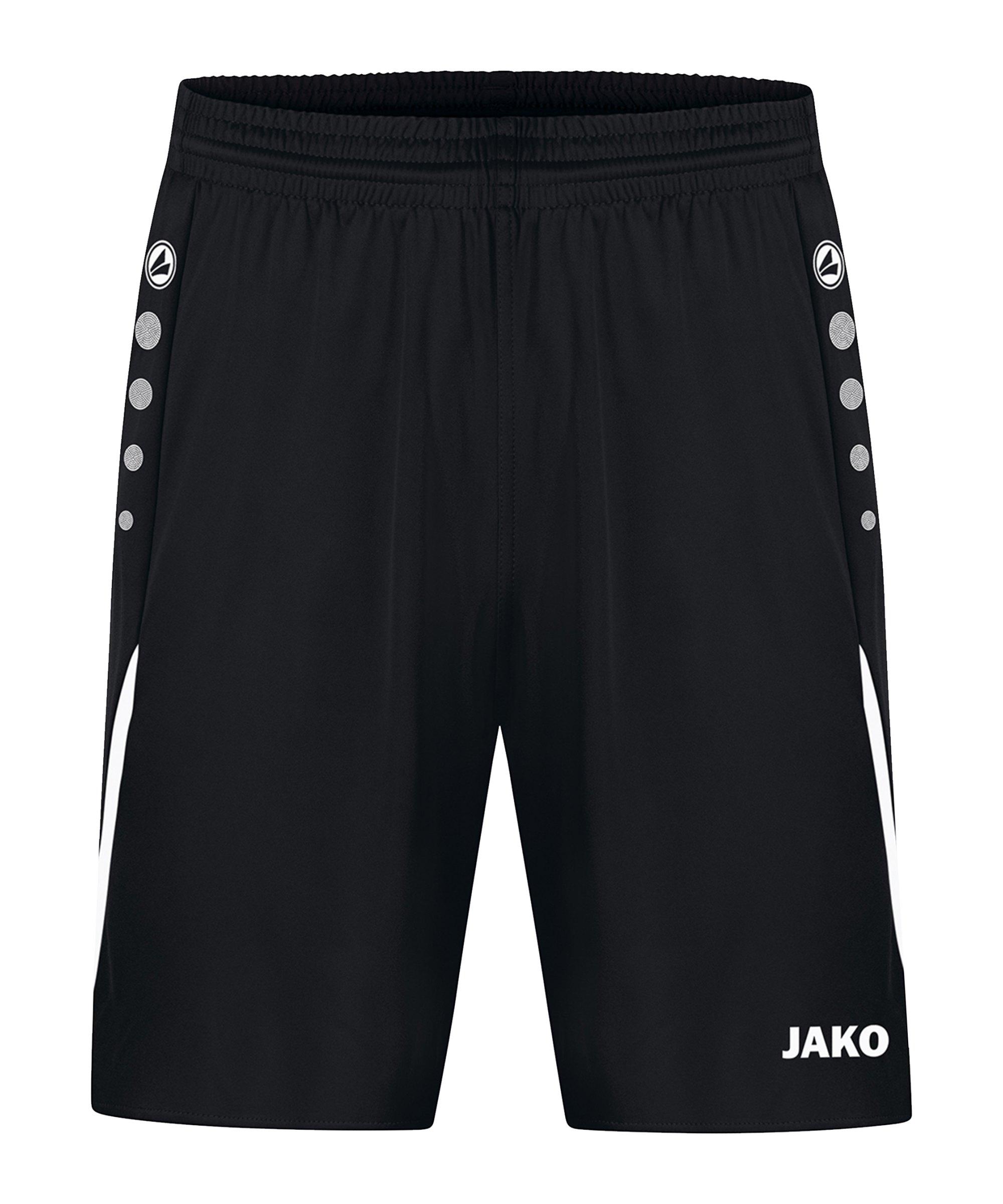 JAKO Challenge Short Schwarz Weiss F802 - schwarz