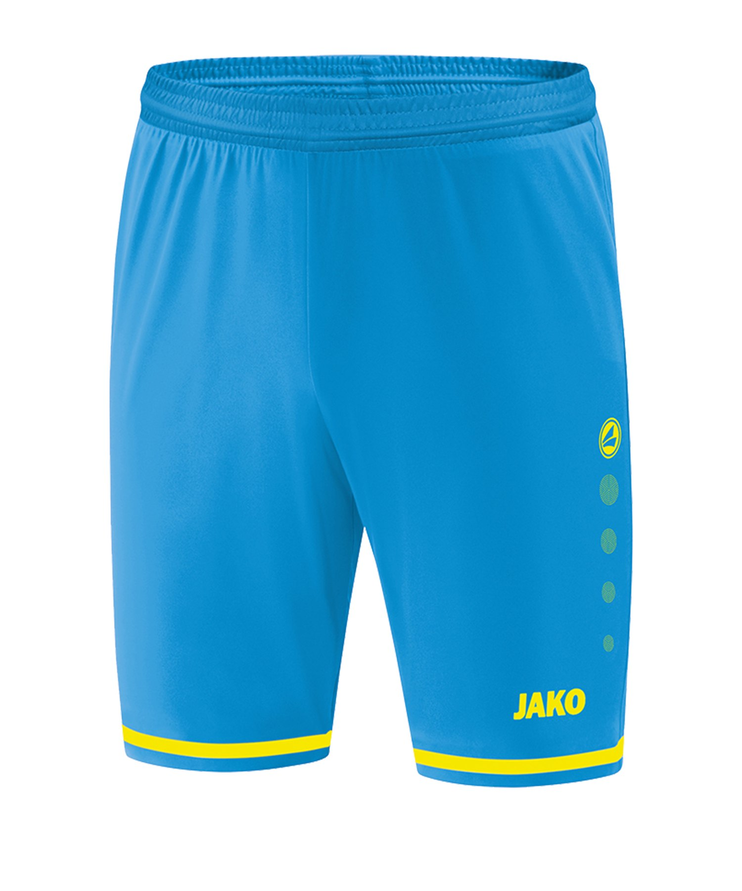 Jako Striker 2.0 Short Hose kurz Blau Gelb F89 - Blau