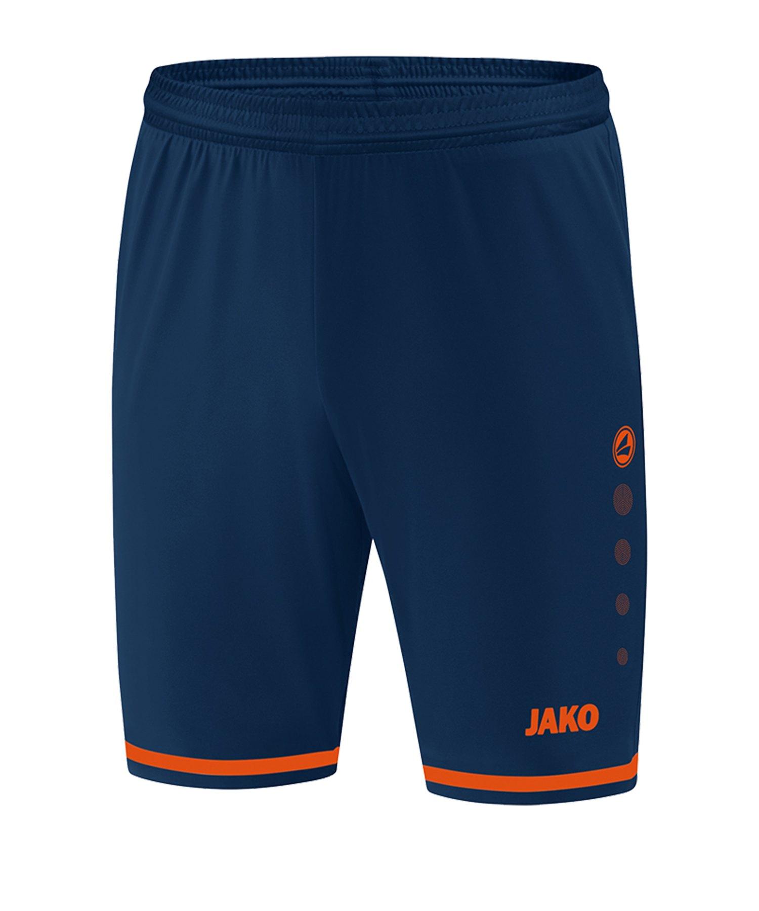 Jako Striker 2.0 Short Hose kurz Blau Orange F18 - Blau
