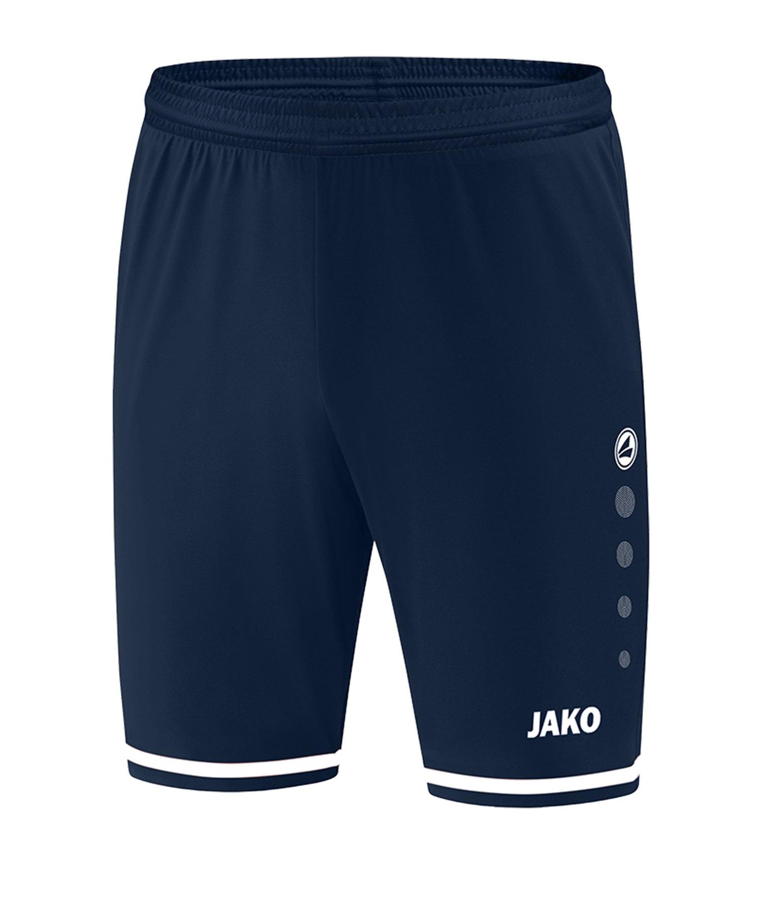 Jako Striker 2.0 Short Hose kurz Blau Weiss F99 - Blau