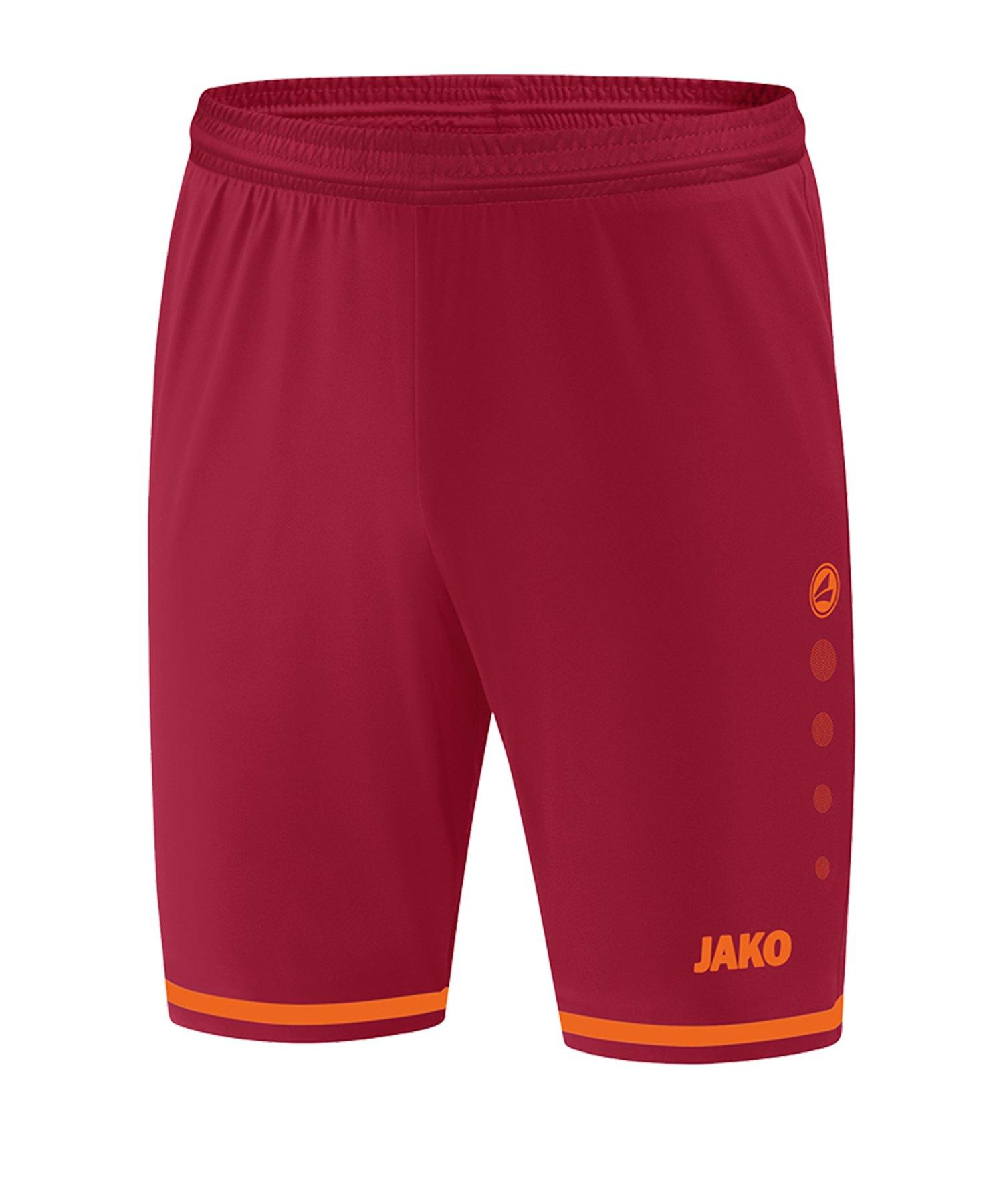 Jako Striker 2.0 Short Hose kurz Rot Orange F13 - Rot