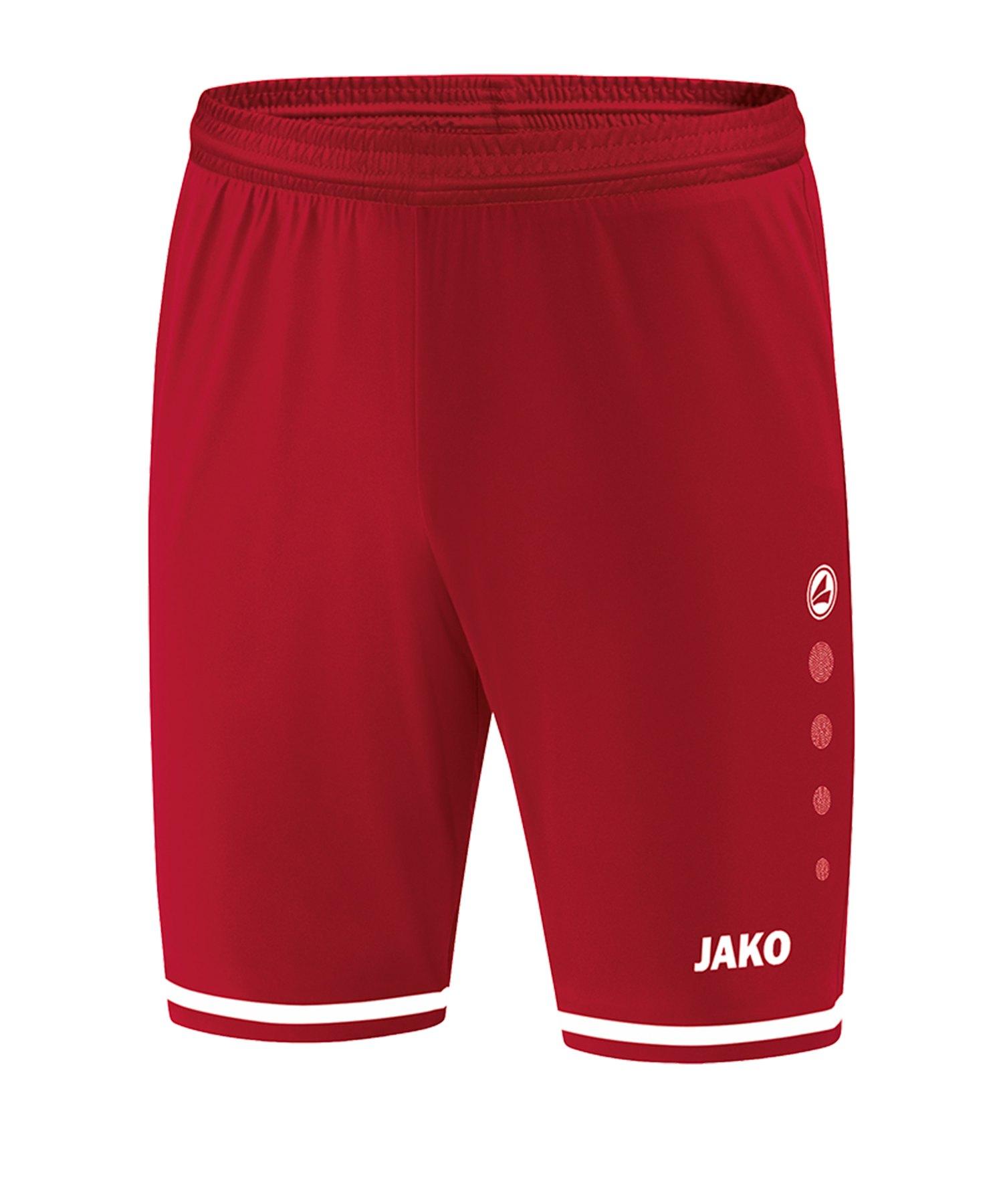Jako Striker 2.0 Short Hose kurz Rot Weiss F11 - Rot