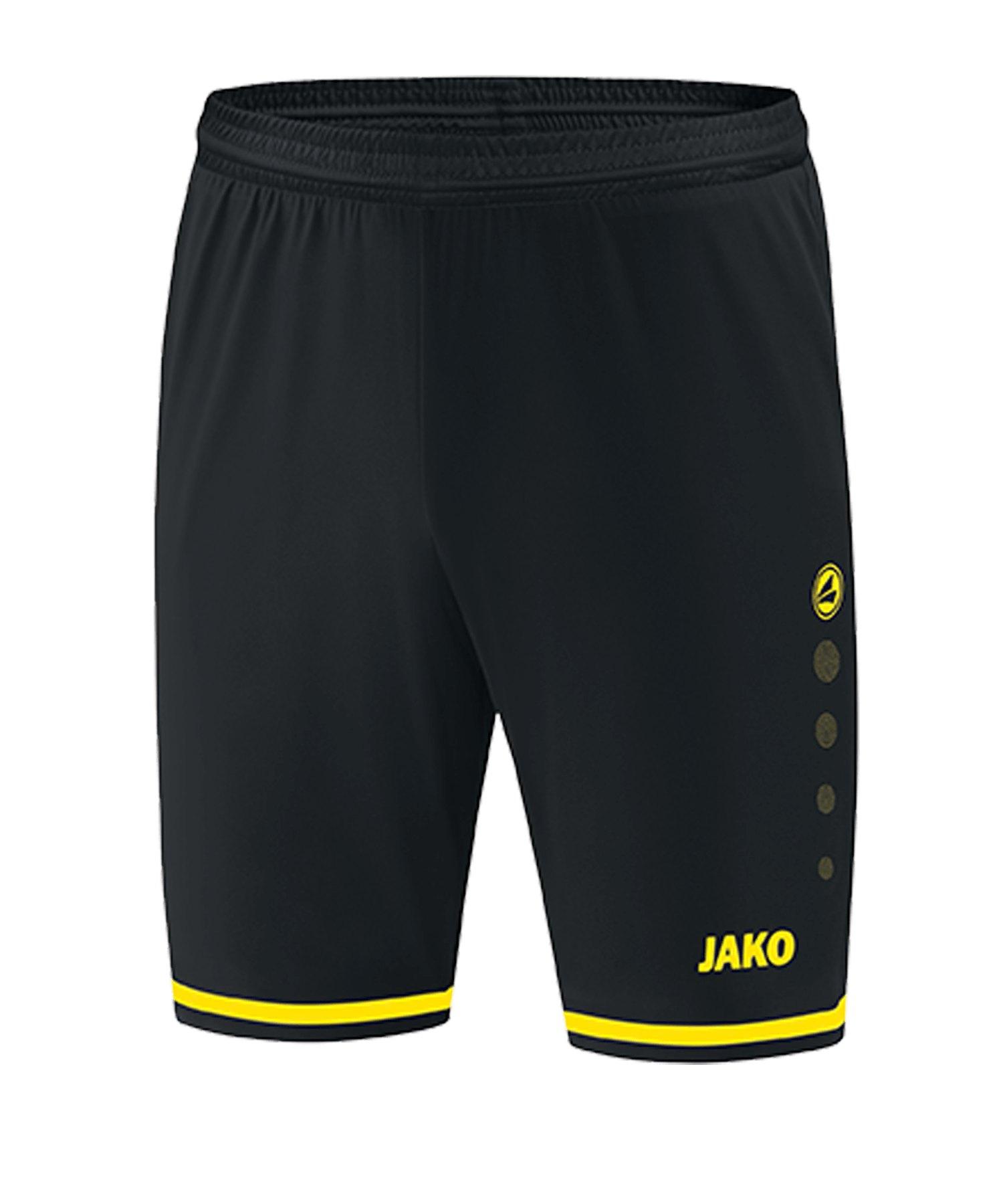 JAKO Striker 2.0 Short Schwarz F83 - schwarz