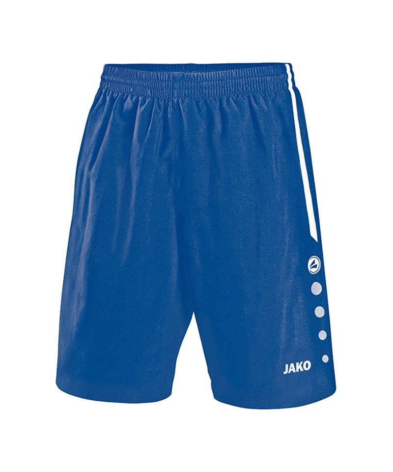 Jako Sporthose Turin ohne Innenslip Blau F04 - blau