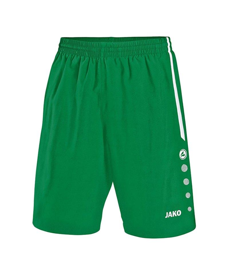 Jako Sporthose Turin ohne Innenslip Grün F06 - gruen