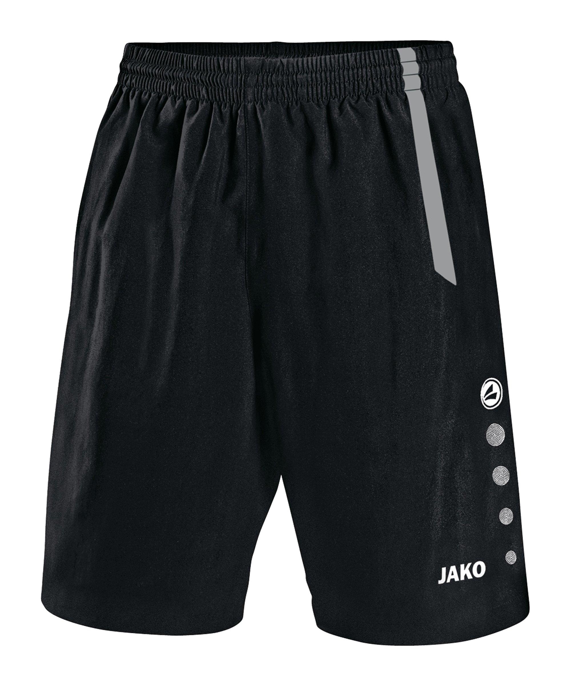 Jako Sporthose Turin ohne Innenslip Schwarz F81 - schwarz