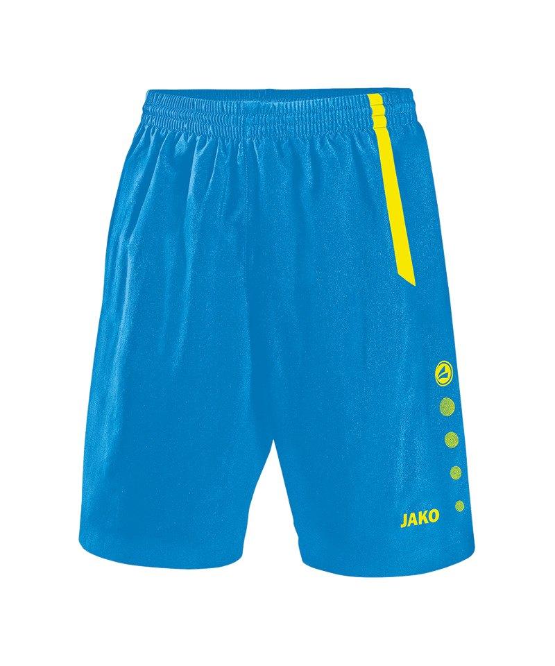 Jako Turin Sporthose ohne Innenslip Kids Blau F83 - blau