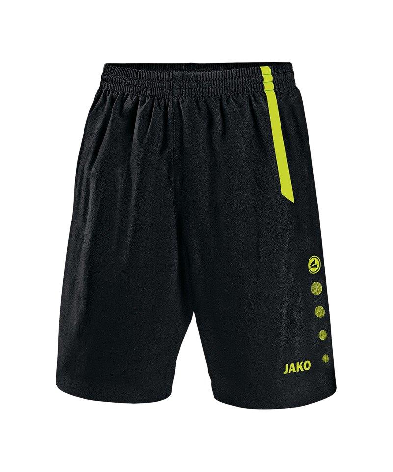Jako Turin Sporthose ohne Innenslip Kids F80 - schwarz