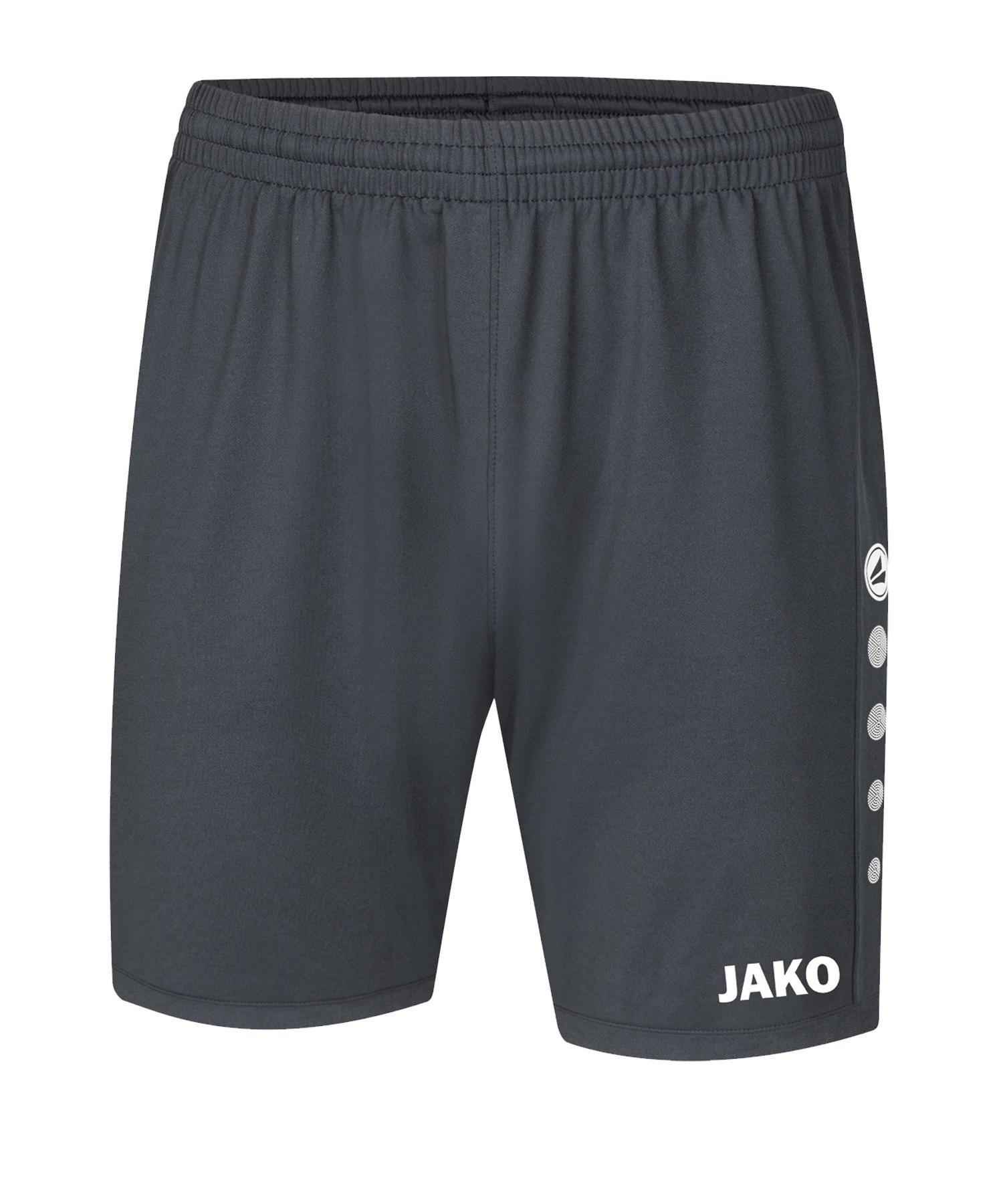 JAKO Premium Short Grau F21 - grau