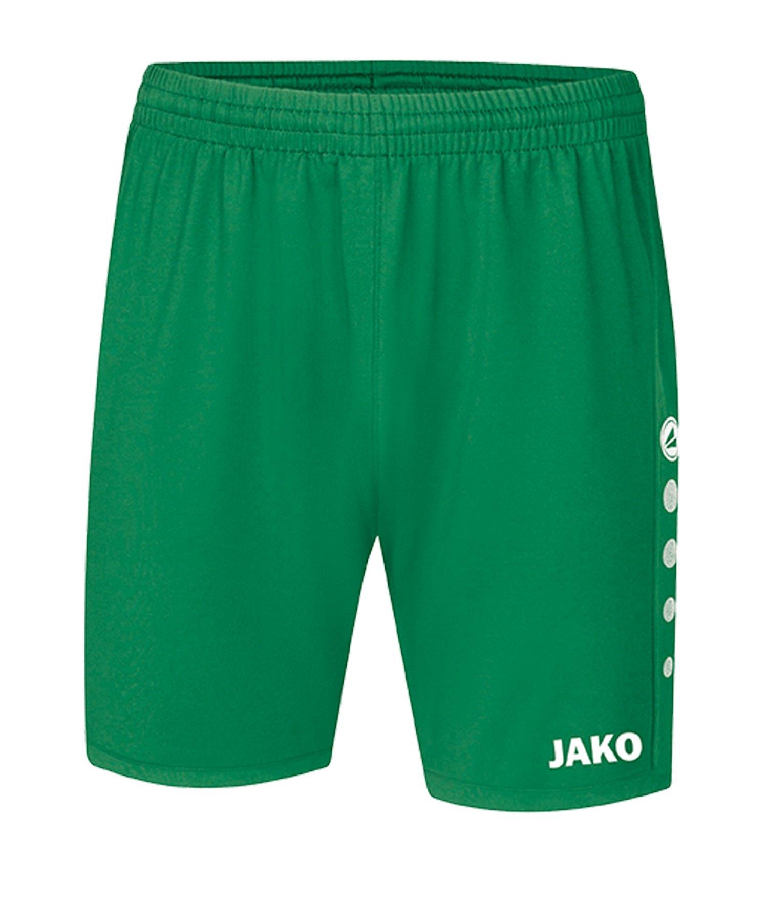 JAKO Premium Short Grün F06 - Gruen