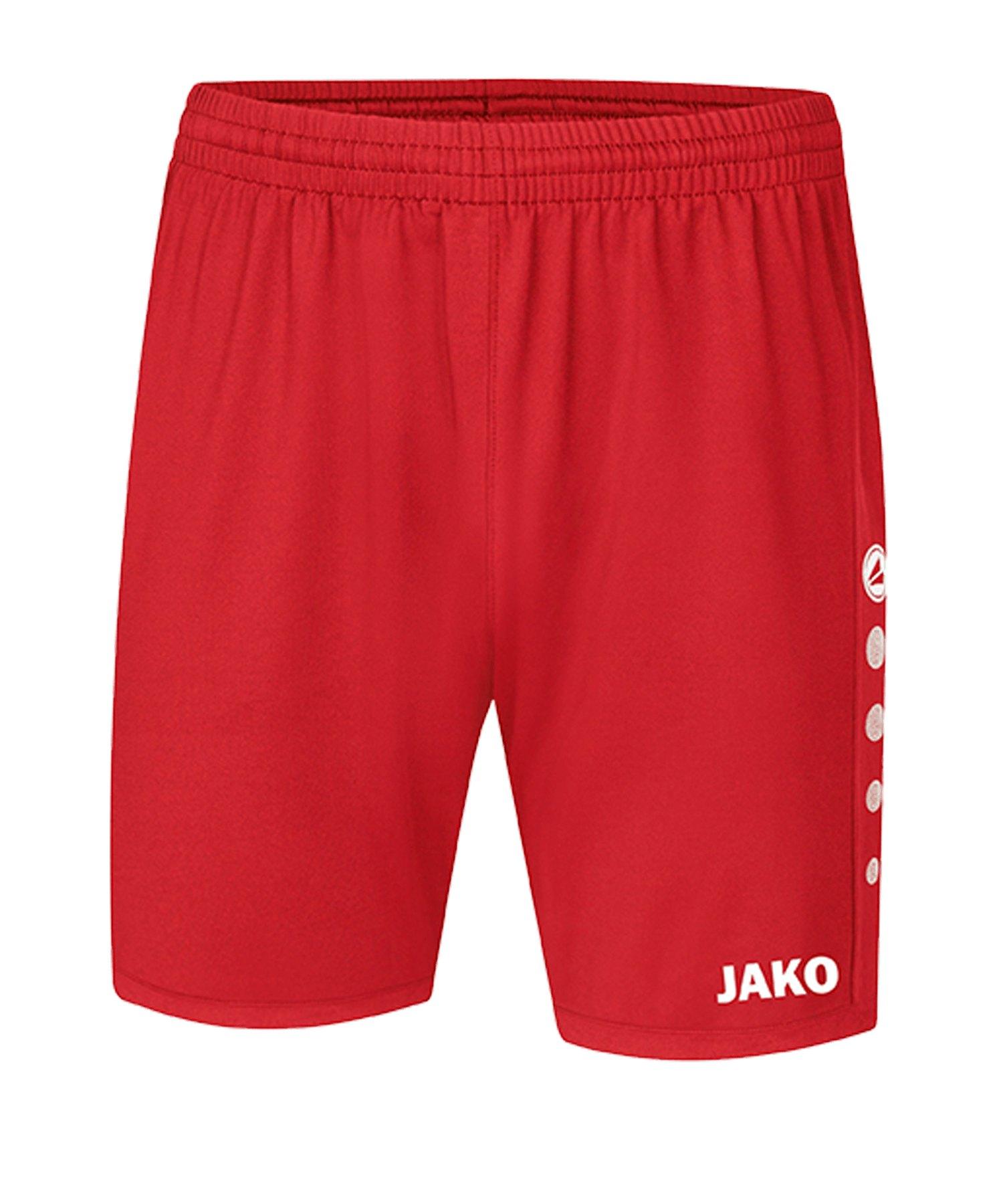 JAKO Premium Short Rot F01 - rot