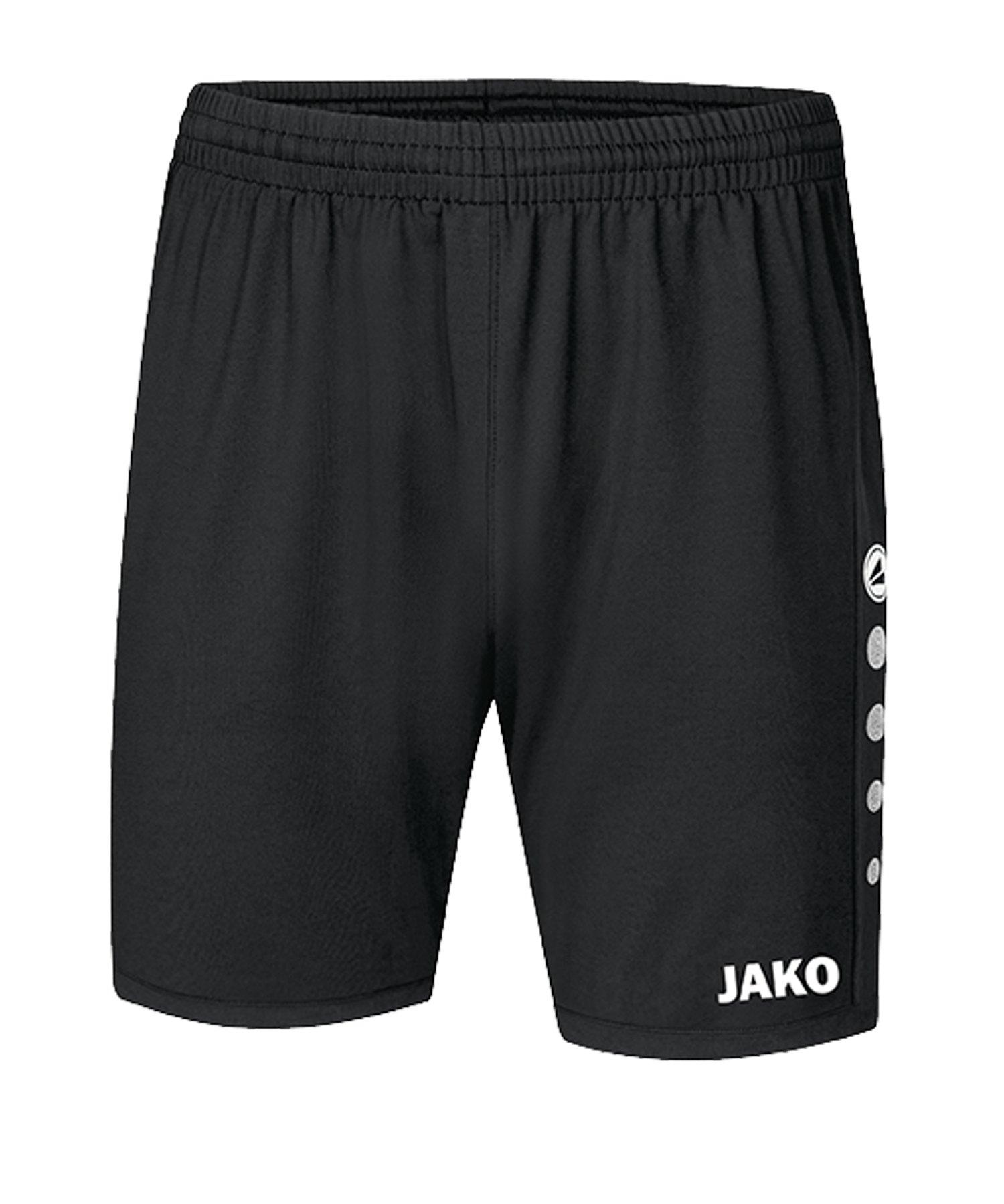 JAKO Premium Short Schwarz F08 - schwarz