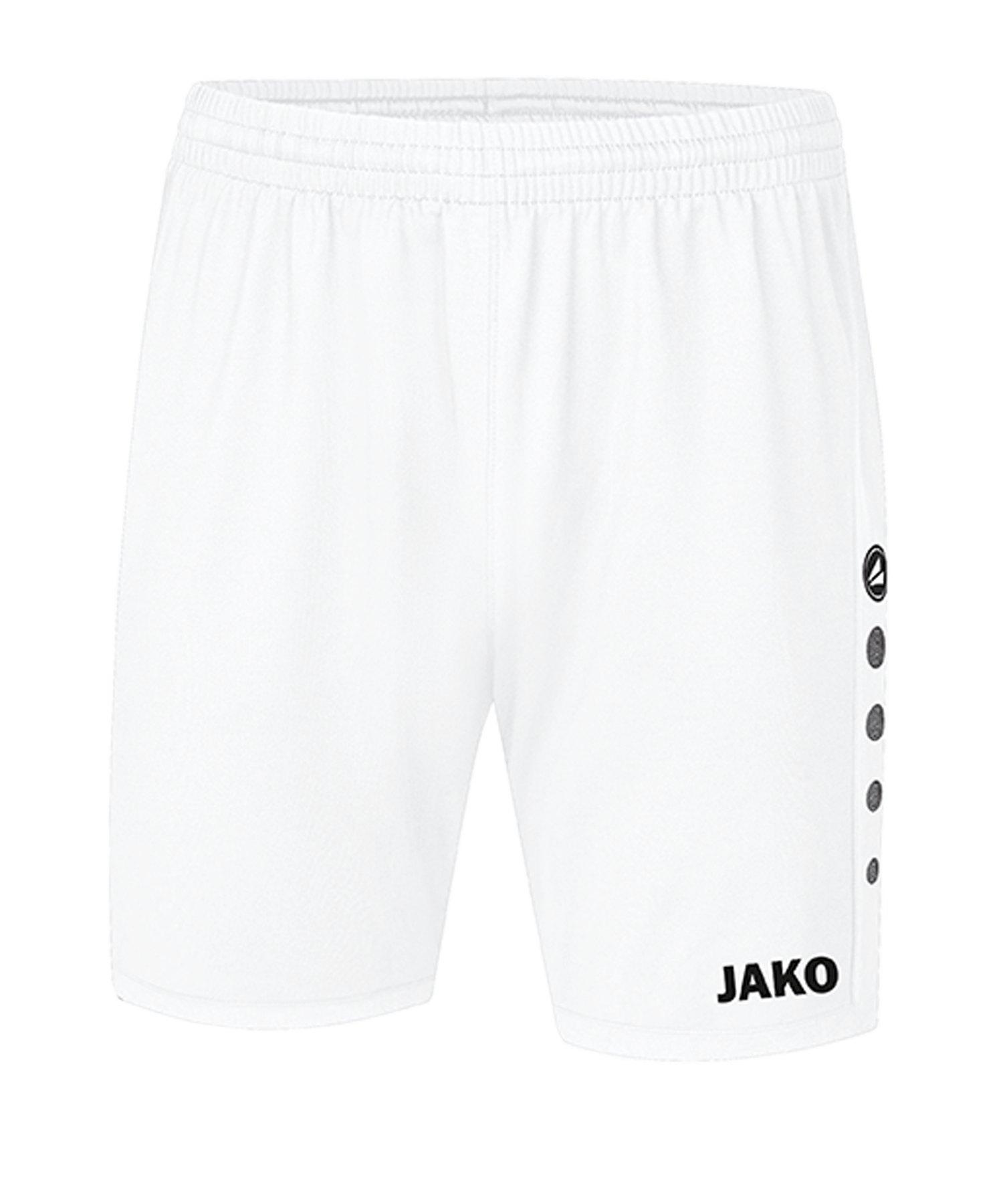 JAKO Premium Short Weiss F00 - weiss