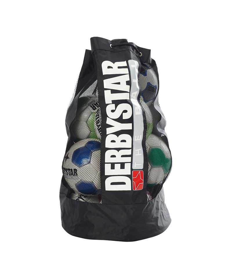 Derbystar Ballsack für 22 Bälle Schwarz - schwarz