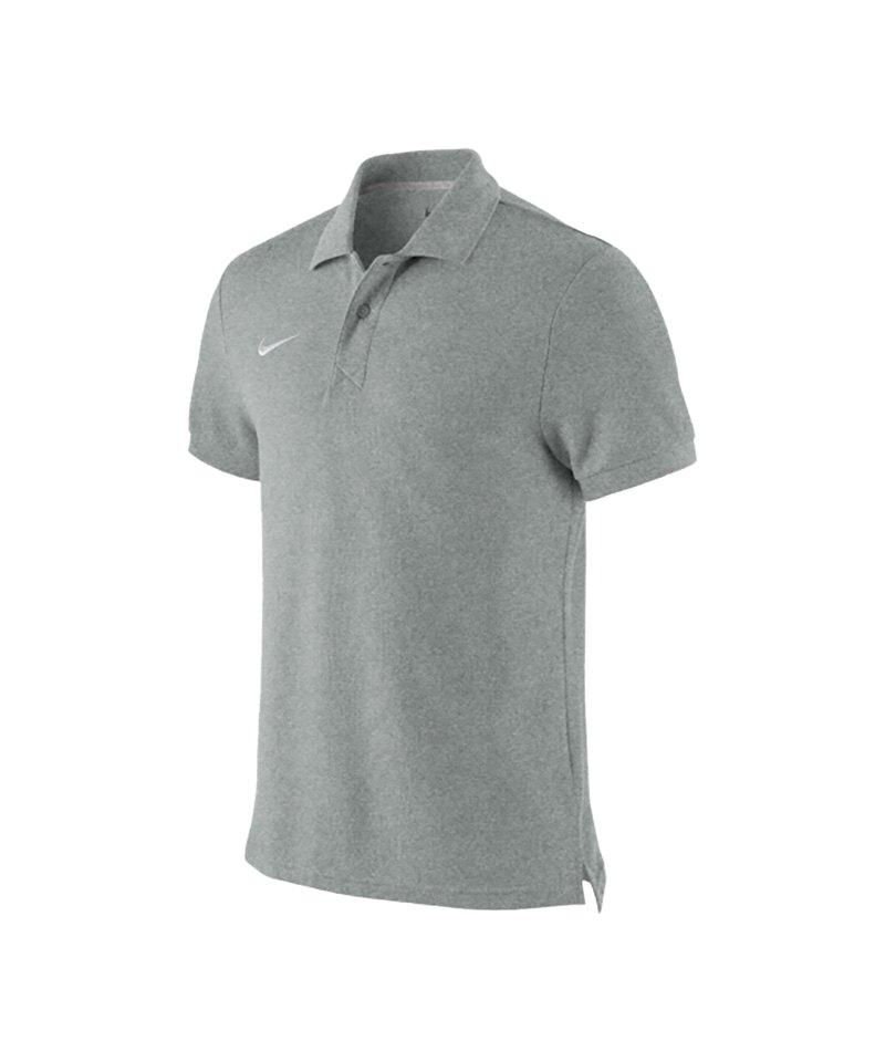 Nike Poloshirt TS Core Mens Polo Grau F050 - grau