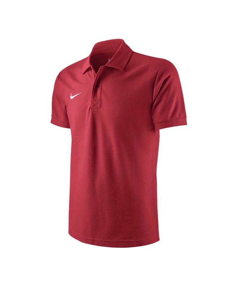 Nike Poloshirt TS Core Mens Polo Rot F657 - rot