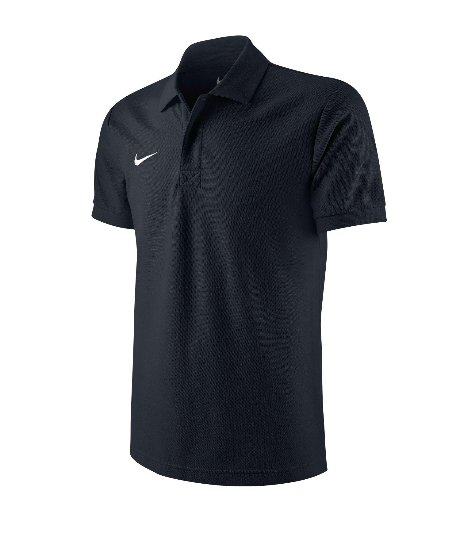 Nike Poloshirt TS Core Mens Polo Schwarz F010 - schwarz