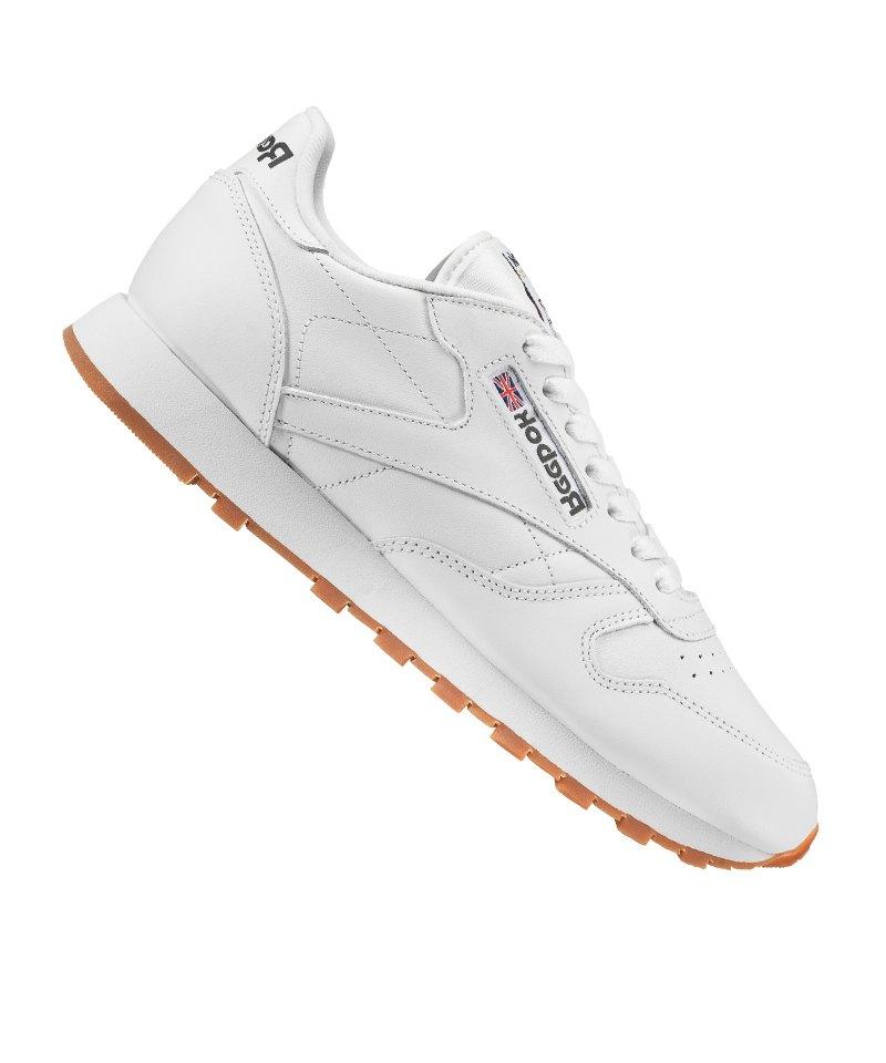 Reebok Classic Leather Sneaker Weiss - weiss