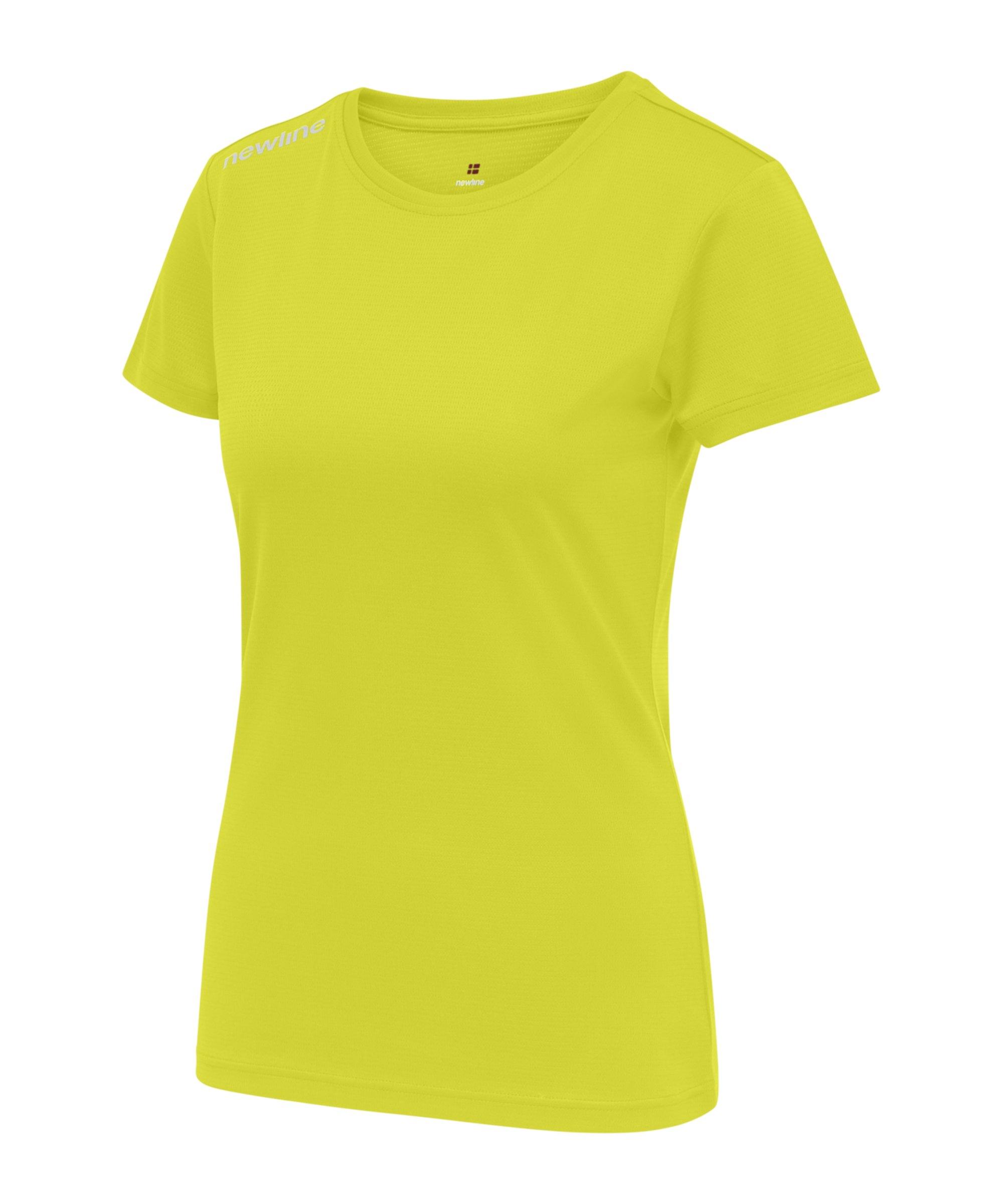 Newline Core Function T-Shirt Running Damen F6102 - gruen