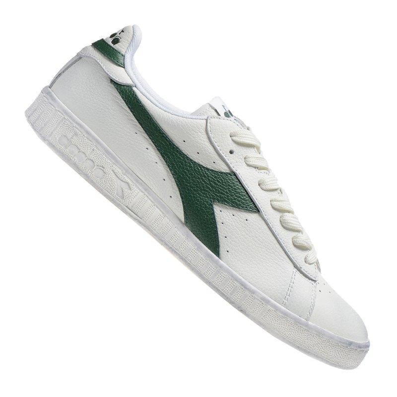 Diadora Game L Low Waxed Sneaker C1161 - weiss