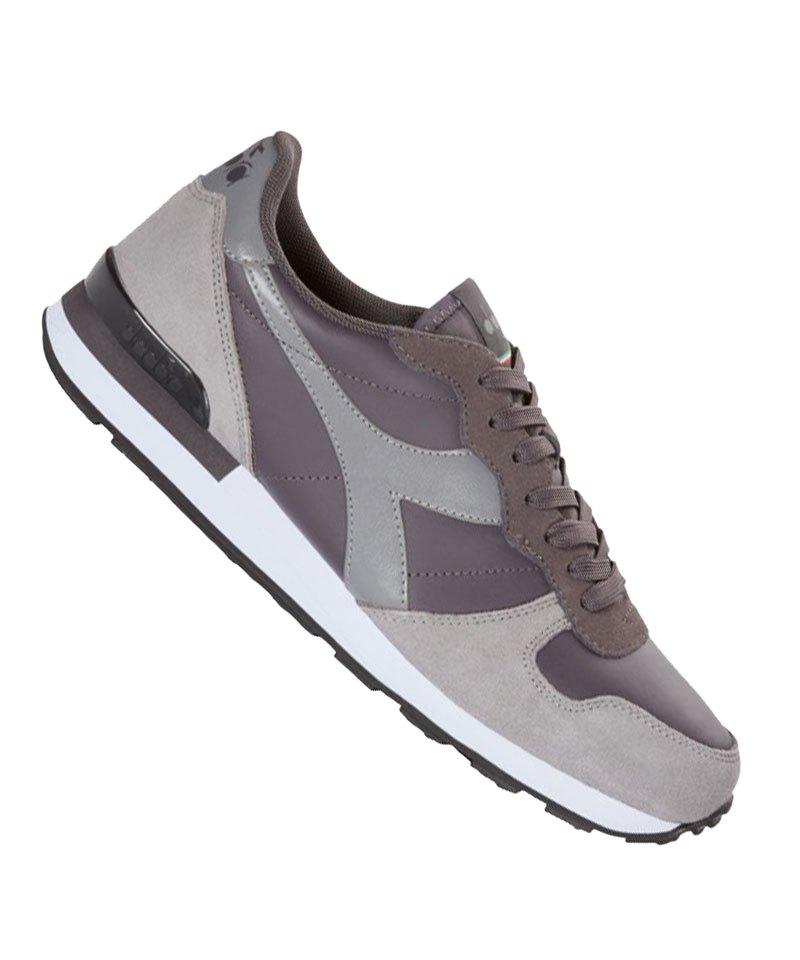 Diadora Camaro Leather Sneaker Grau C7034 - grau