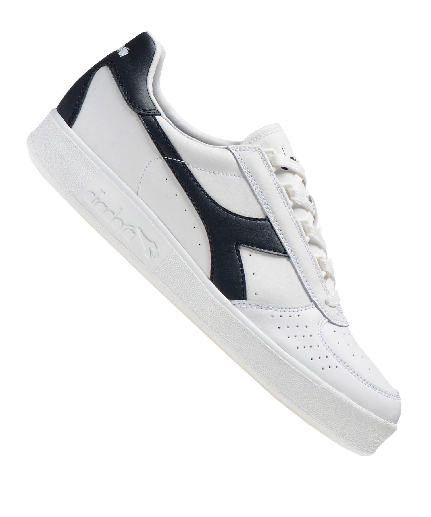 Diadora B. Elite Sneaker Weiss Blau C5943 - weiss