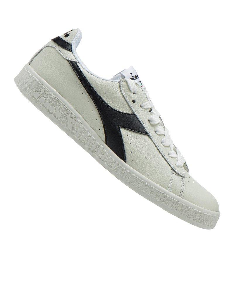 Diadora Game L Low Sneaker Weiss Schwarz C3159 - weiss