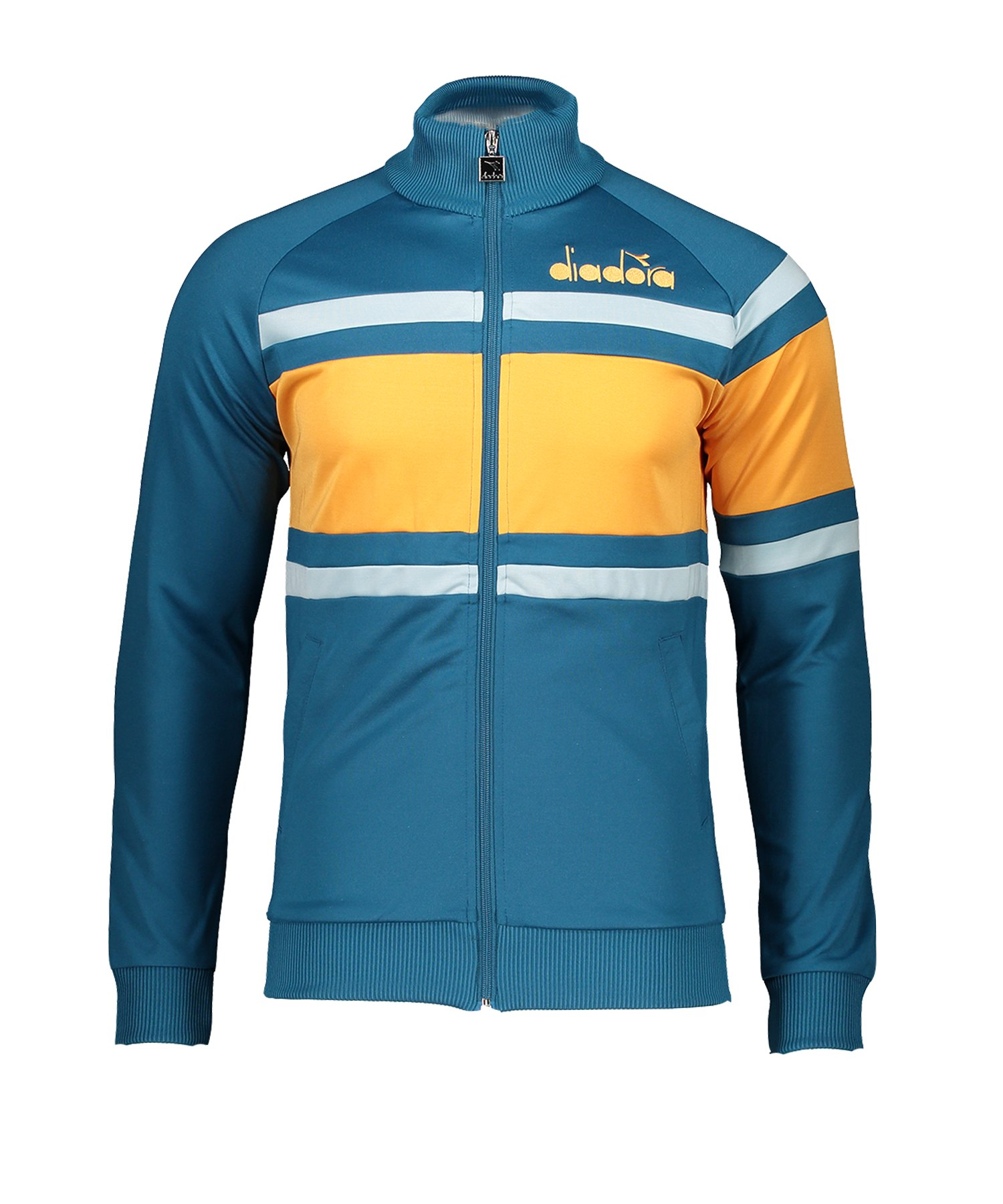 Diadora Jacket 80s Freizeitjacke Blau F60097 - blau