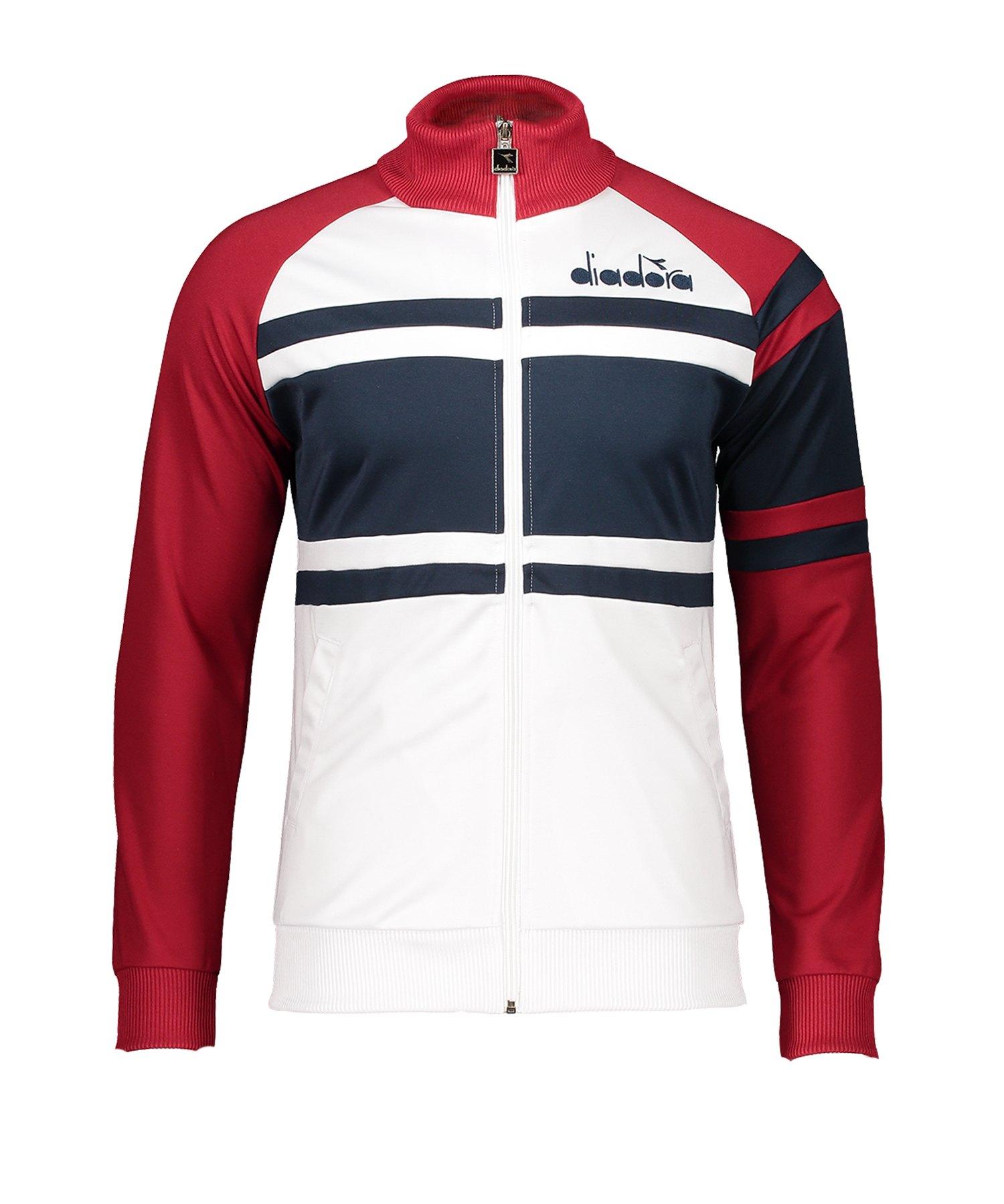 Diadora Jacket 80s Freizeitjacke Rot F45066 - rot