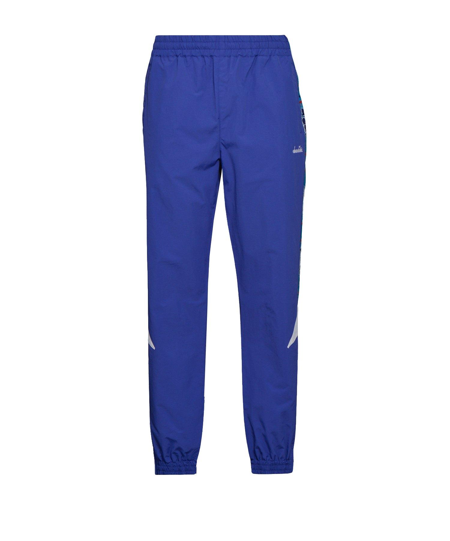 Diadora Pant MVB Hose lang Blau F60049 - blau