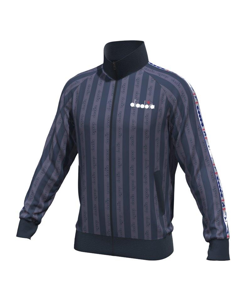 Diadora Track Jacket Offside Blau F60065 - blau
