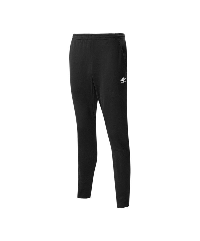 Umbro Tapered Pants Jogginghose Kids Schwarz F060 - schwarz