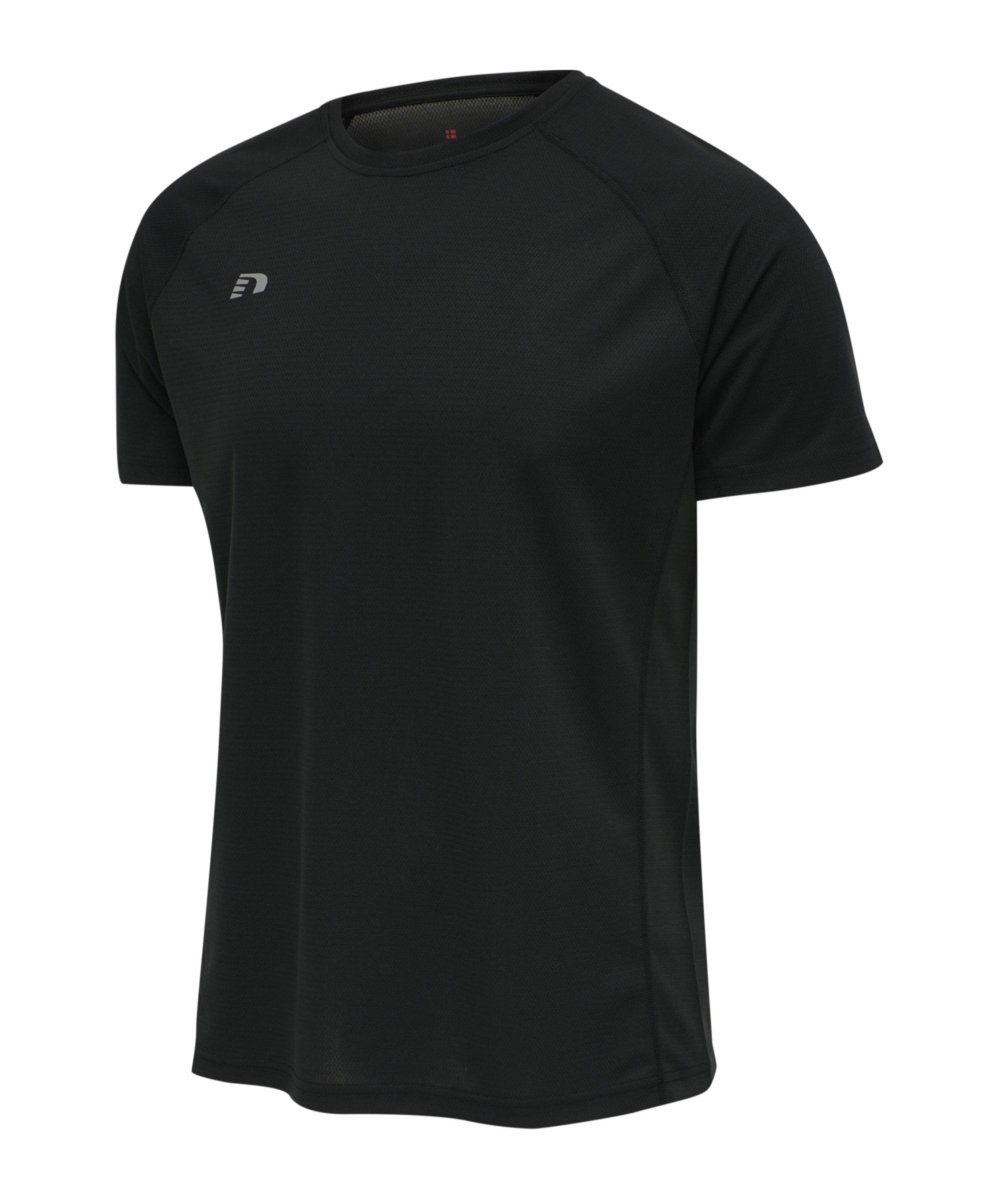 Newline Core T-Shirt Running Schwarz F2001 - schwarz