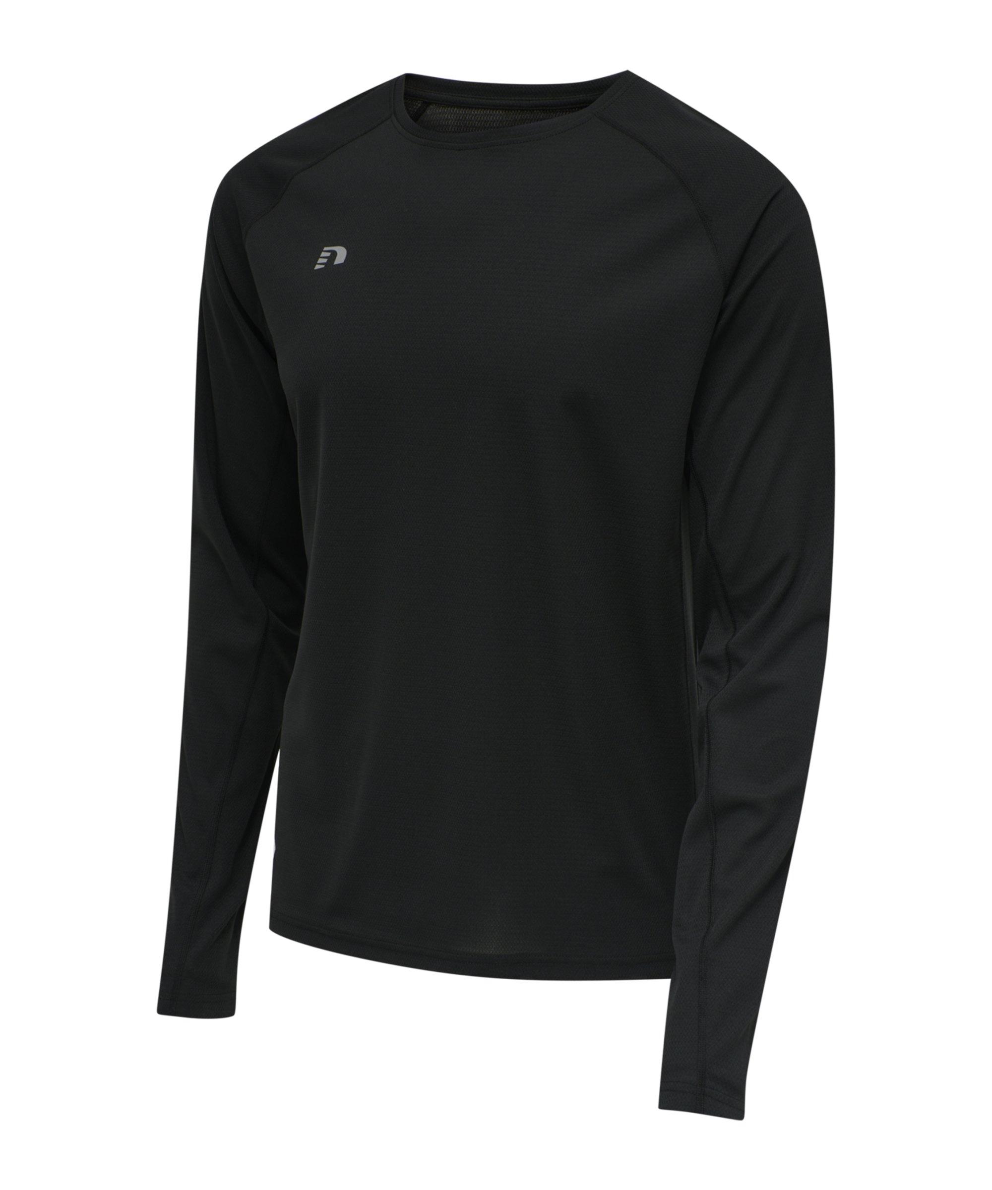 Newline Core Sweatshirt Running Schwarz F2001 - schwarz