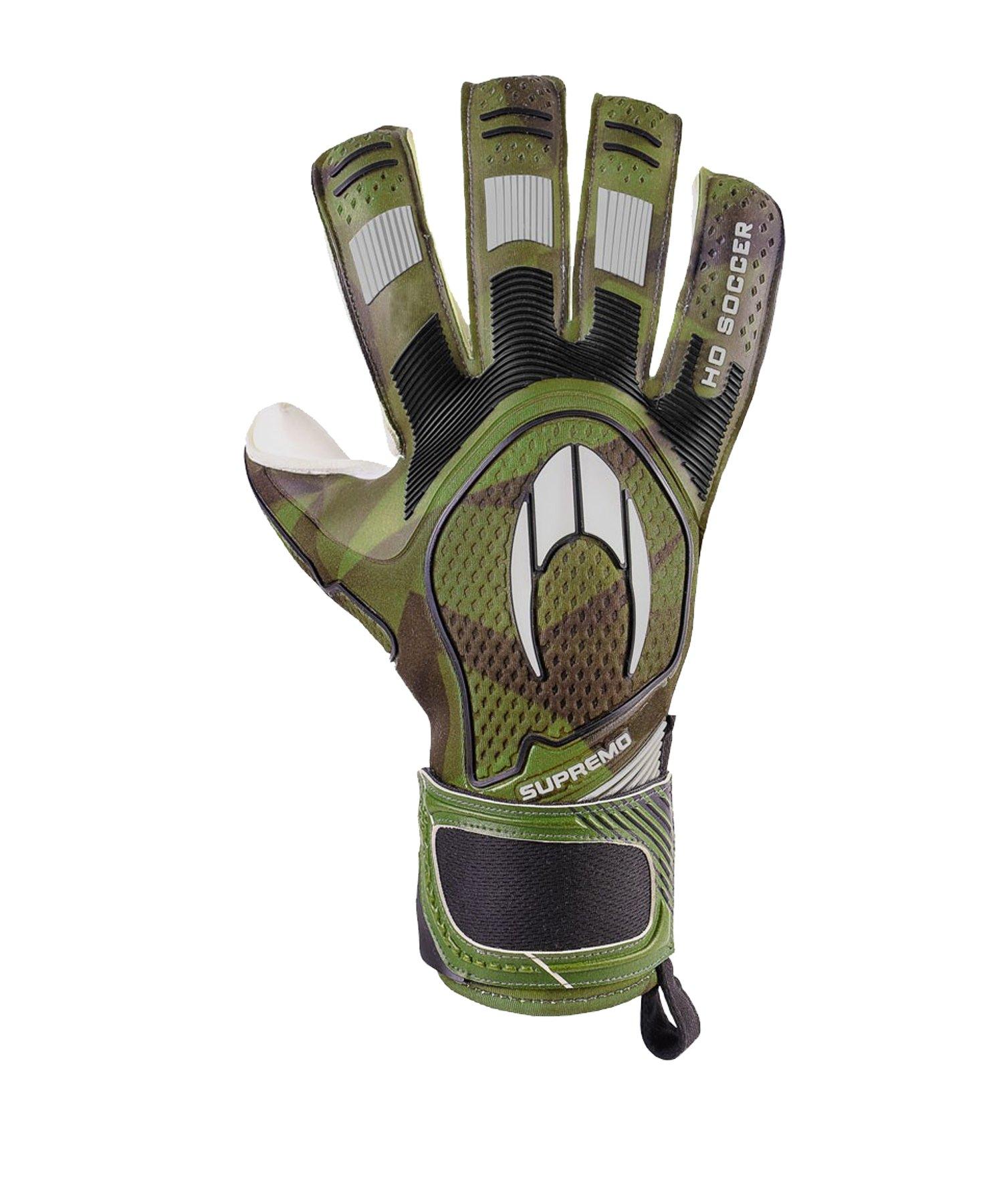 HO Soccer SSG Supremo II Roll N TW-Handschuhe Grün - gruen