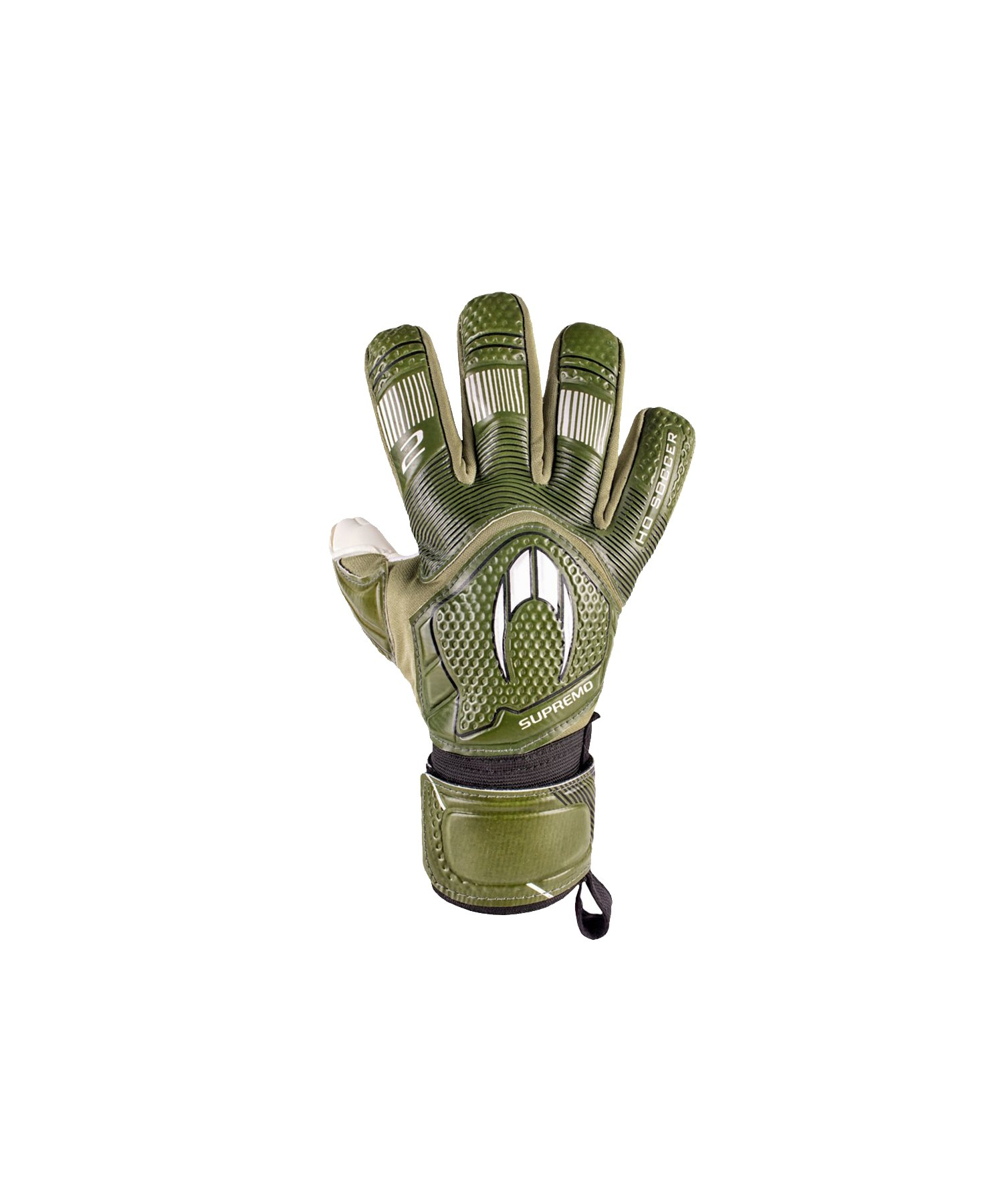 HO Soccer Clone Supremo II N TW-Handschuhe Grün - gruen