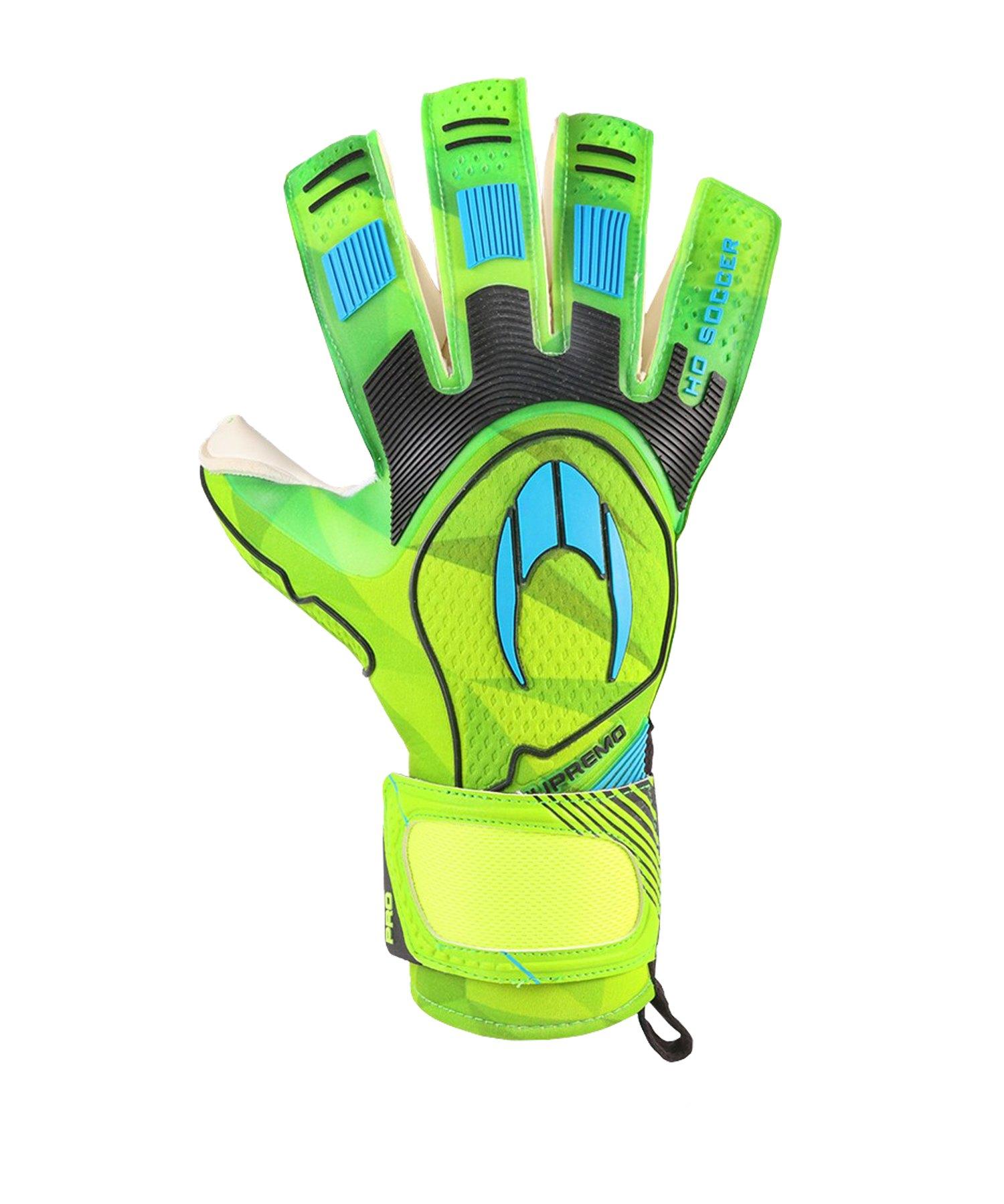 HO Soccer Supremo Pro 2 Roll TW-Handschuhe Grün - gruen