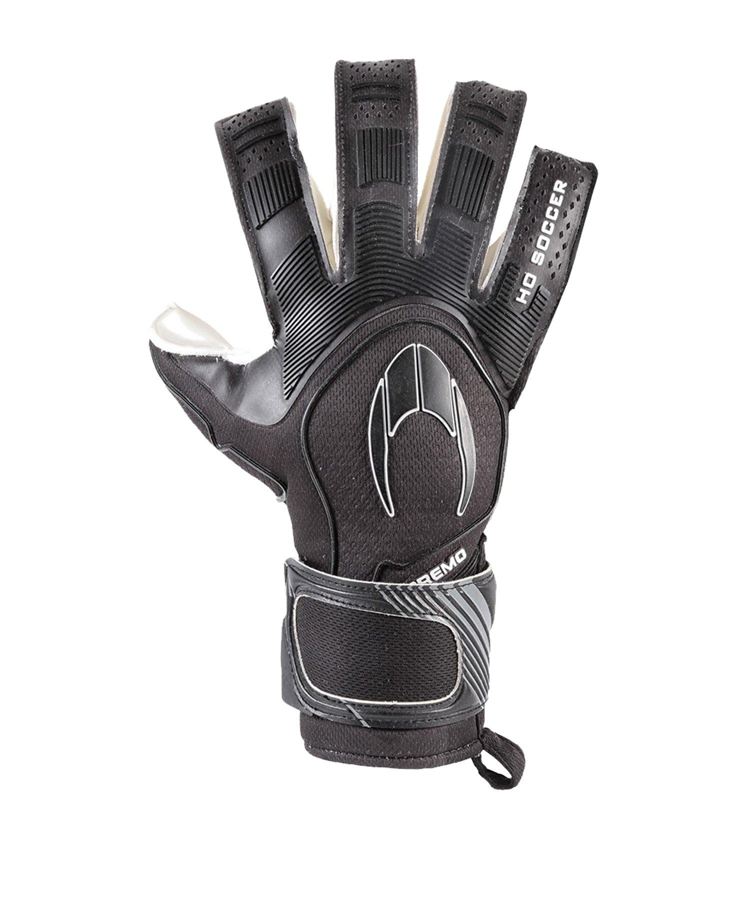 HO Soccer SSG Supremo 2 Roll TW-Handschuhe Schwarz - schwarz