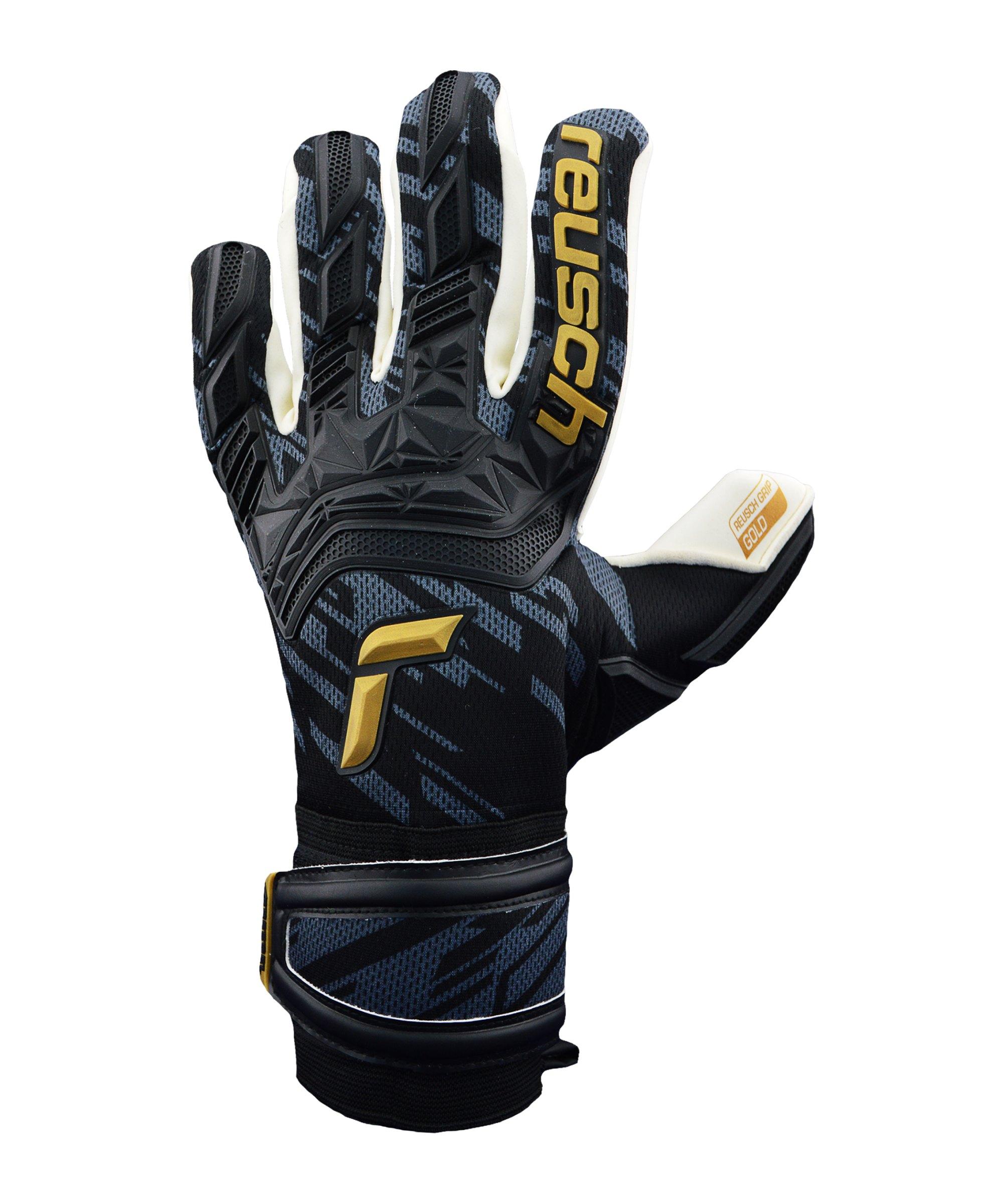 Reusch Attrakt Freegel Gold KsEdition TW-Handschuh Schwarz F7707 - schwarz