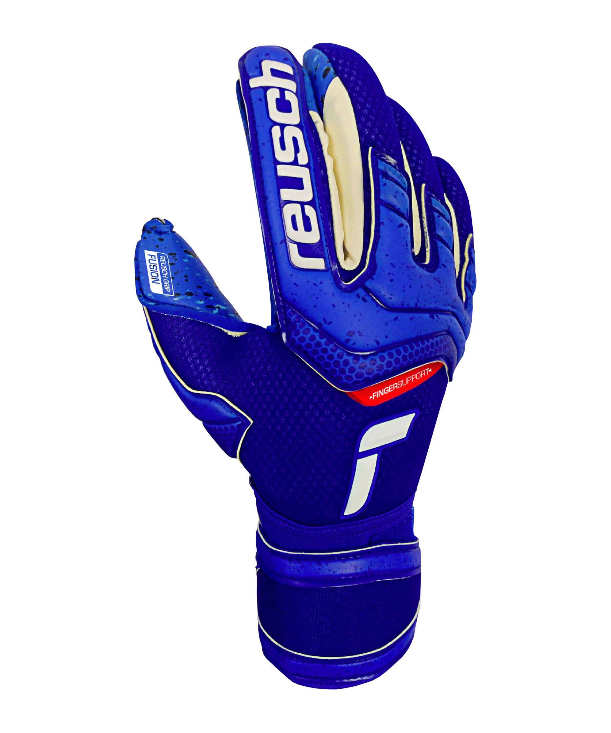 Reusch Attrakt Fusion TW-Handschuh F4010 - blau