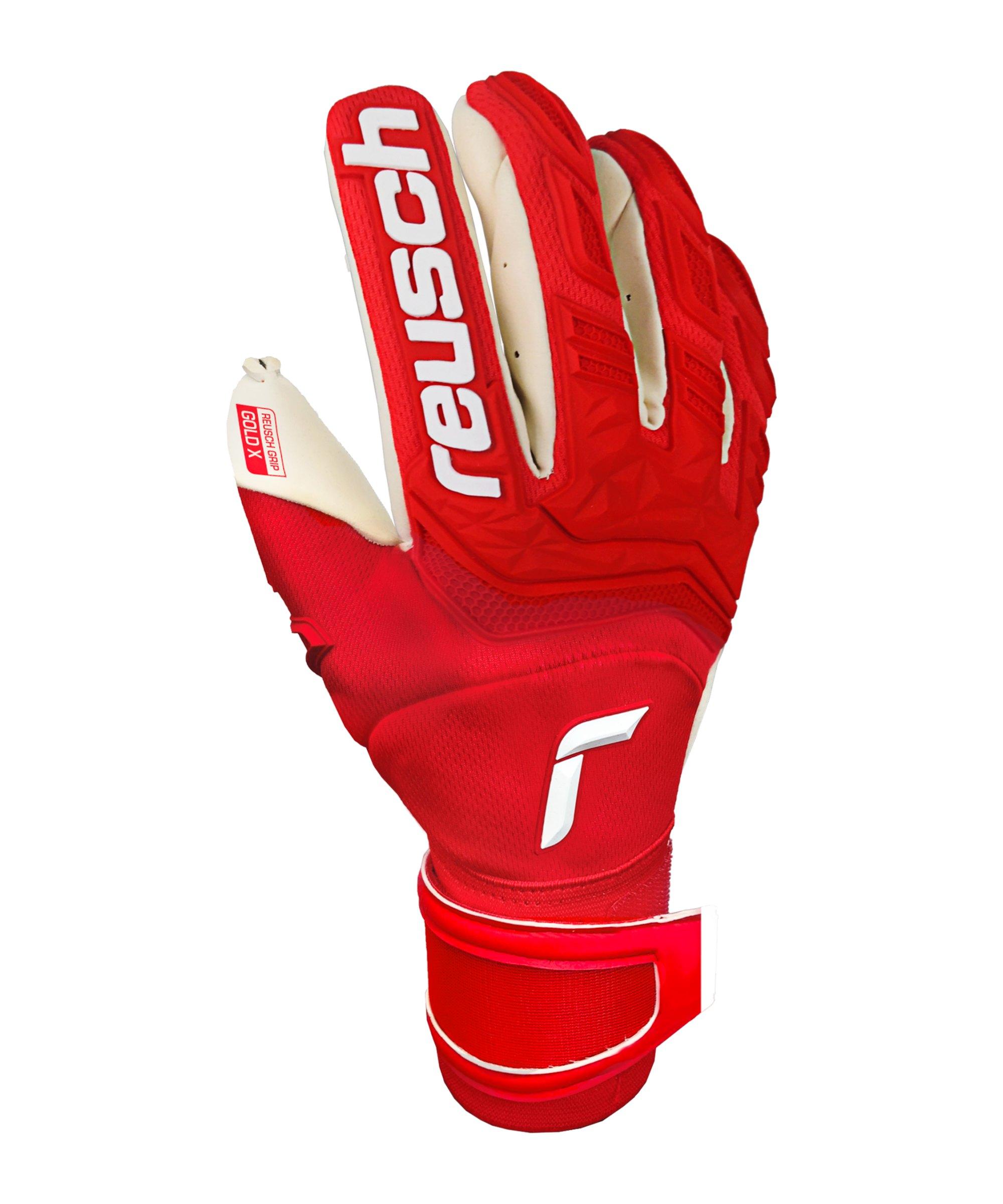 Reusch Attrakt Freegel Gold X TW-Handschuh F3002 - rot