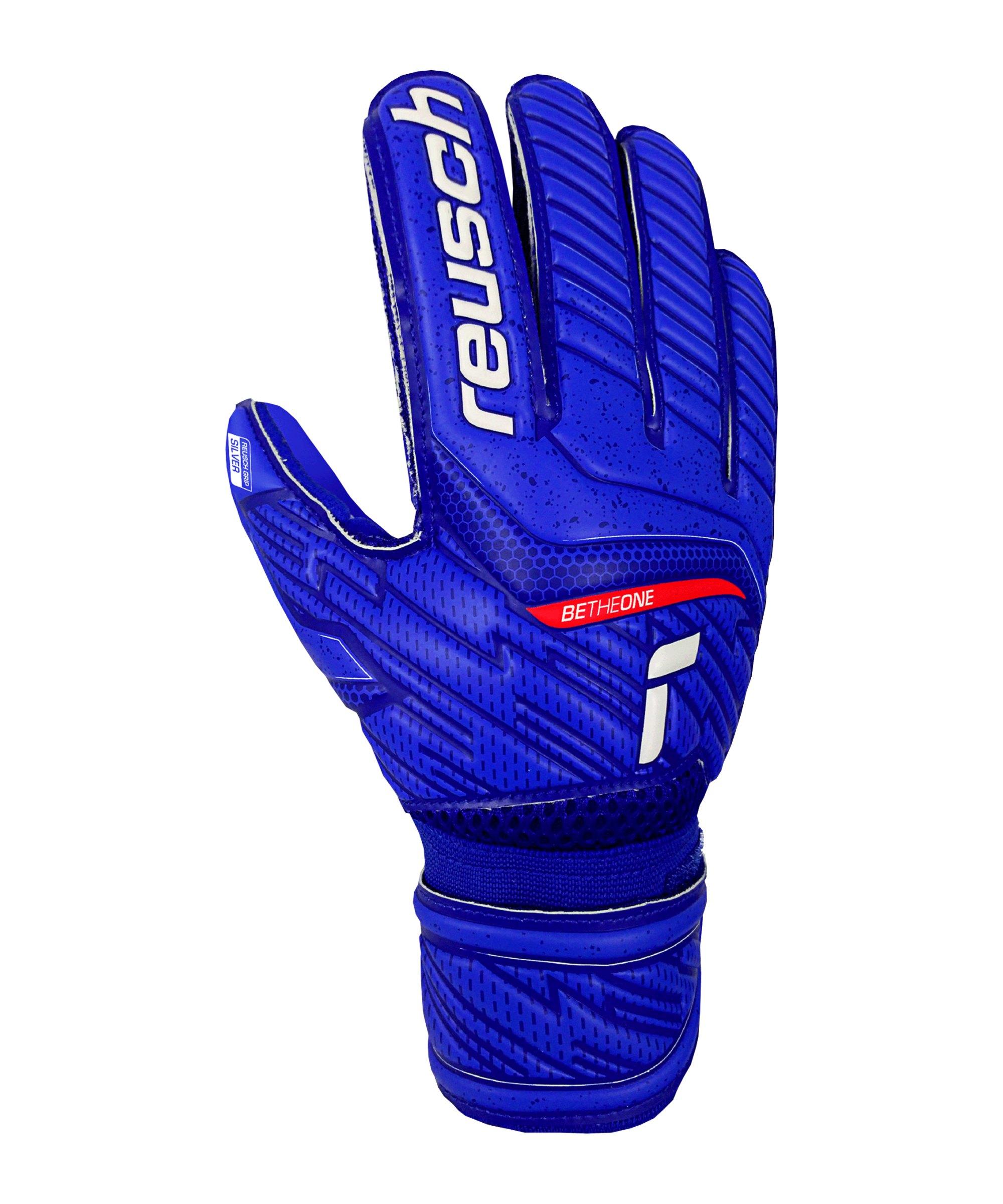 Reusch Attrakt Silver TW-Handschuh Junior F4010 - blau