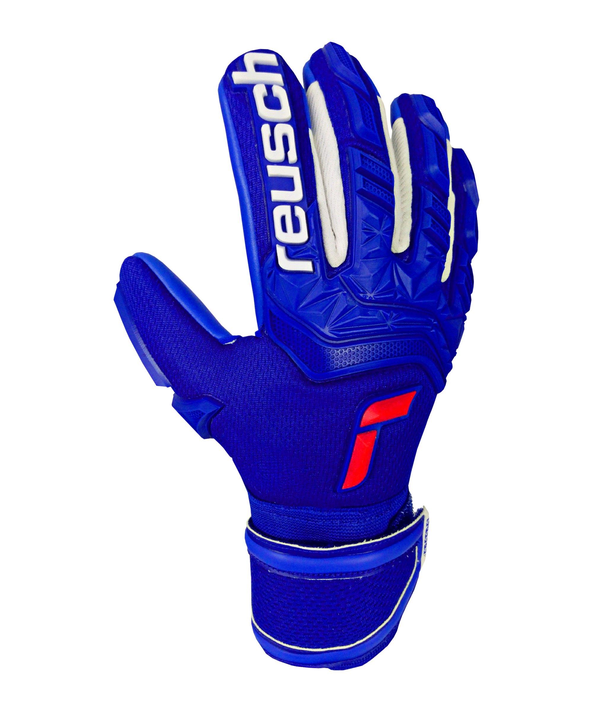 Reusch Attrakt Freegel TW-Handschuh Junior F4010 - blau