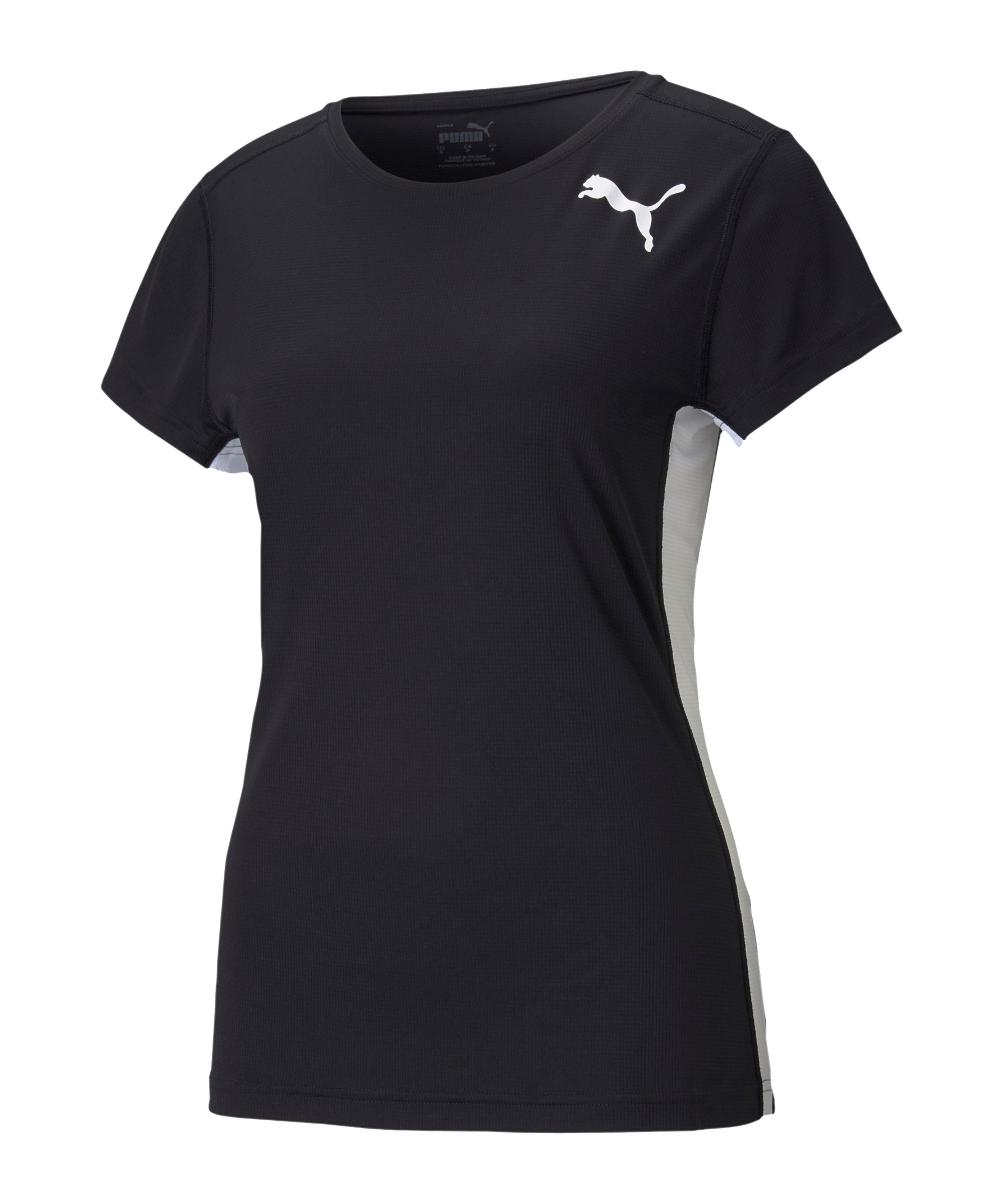 PUMA Cross the Line 2.0 T-Shirt Training Damen F01 - schwarz