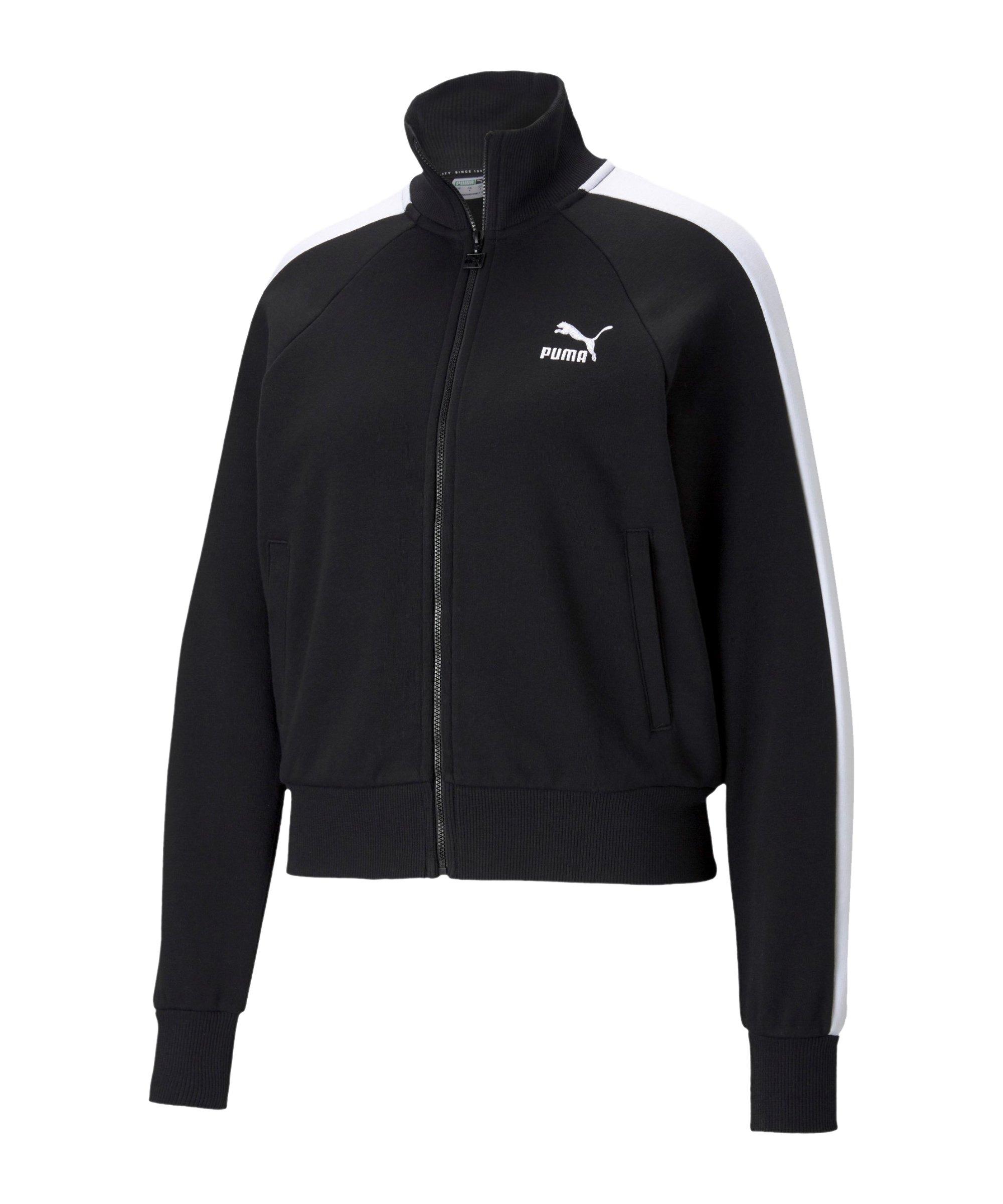 PUMA Iconic T7 Jacke Damen Schwarz F01 - schwarz