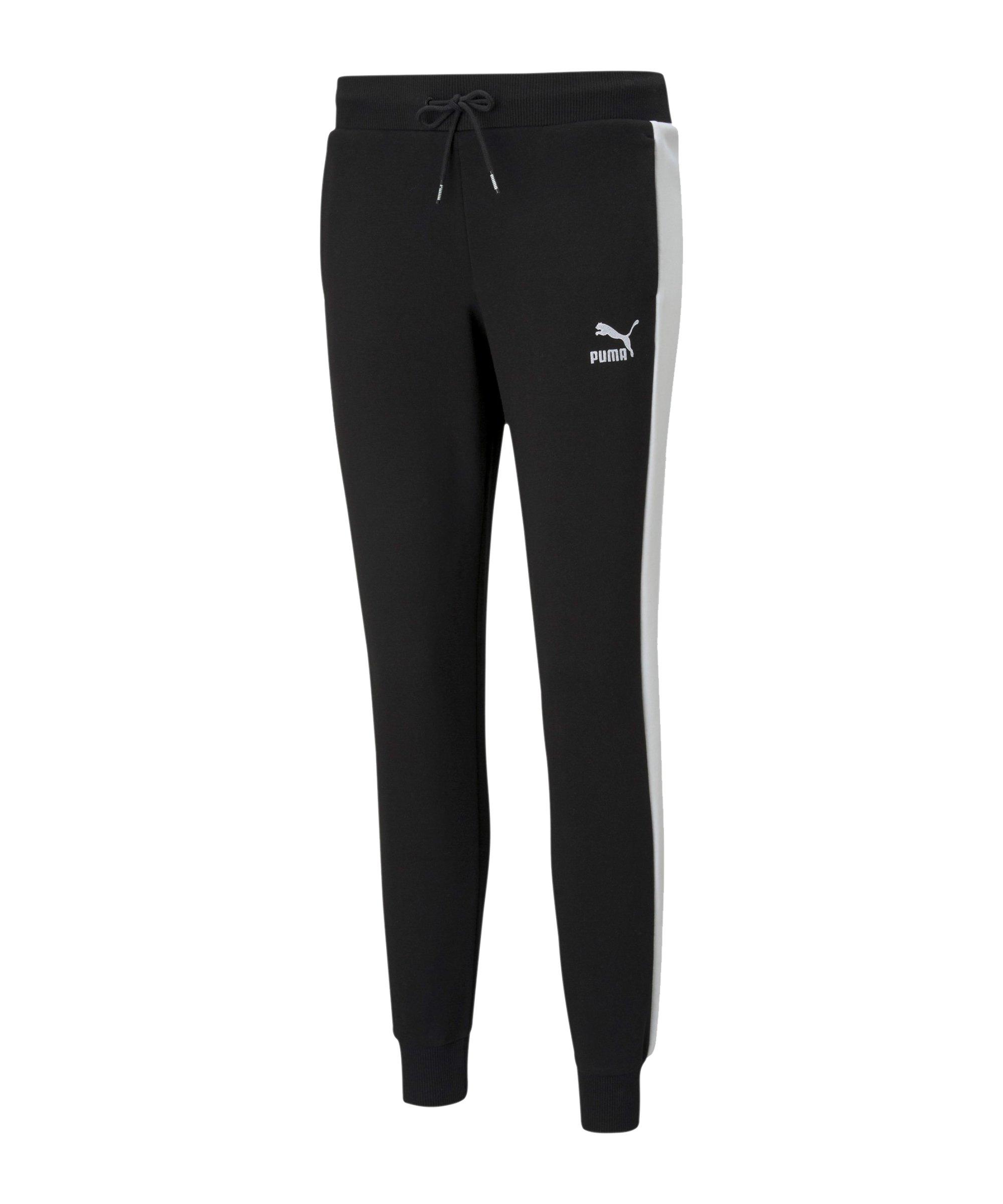 PUMA Iconic T7 Joggingshose Damen Schwarz F01 - schwarz