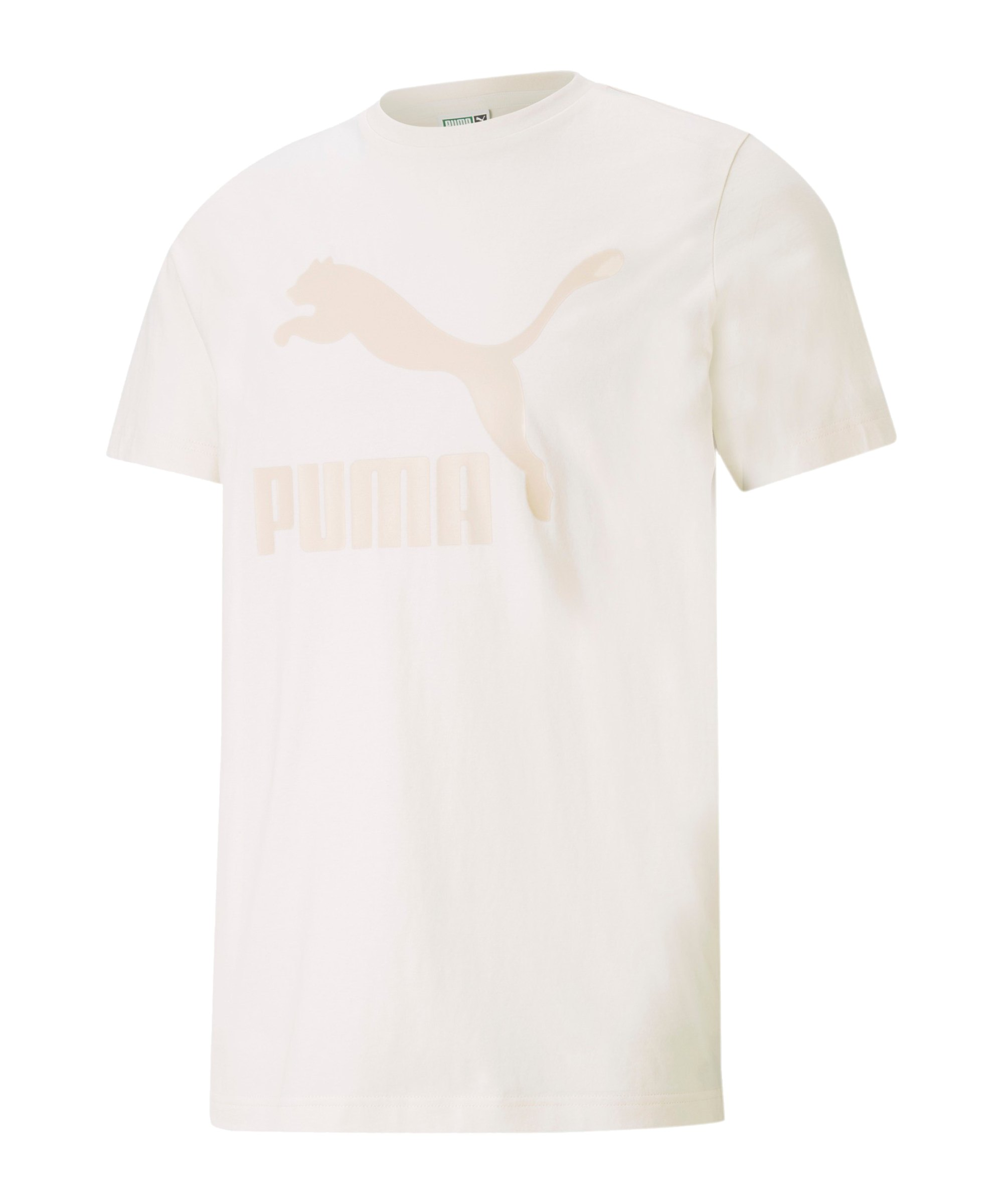 PUMA Classic Logo T-Shirt F99 - weiss
